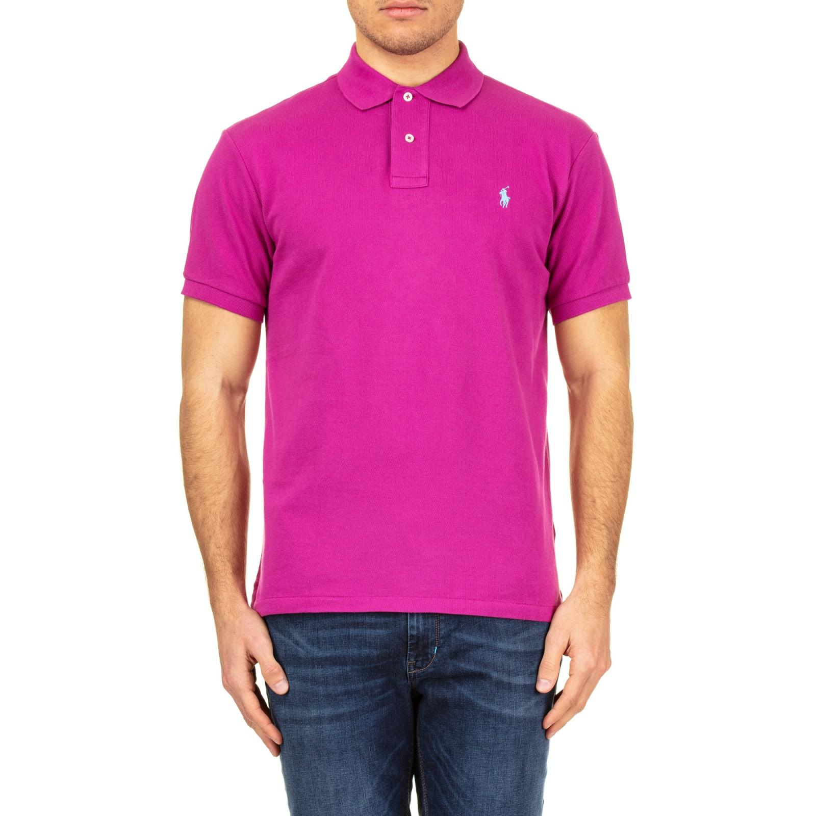 Cotton Piqué Shirt Polo Ralph Lauren Rj34A5qL
