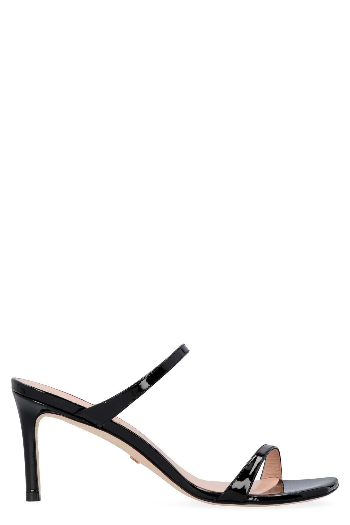 Buy Stuart Weitzman Aleena Patent Leather Sandals online, shop Stuart Weitzman shoes with free shipping