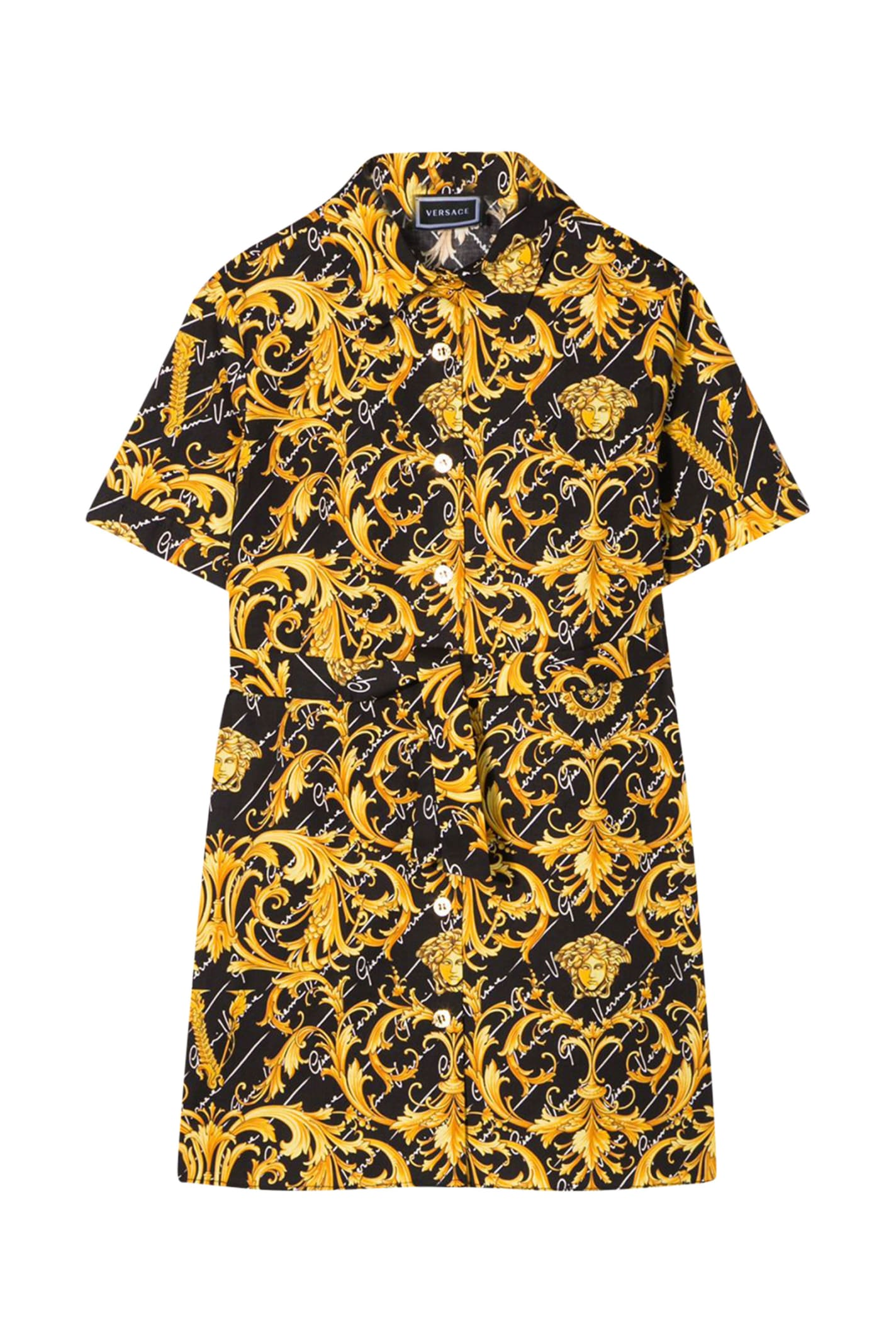 Buy Dress With Print online, shop Young Versace with free shipping
