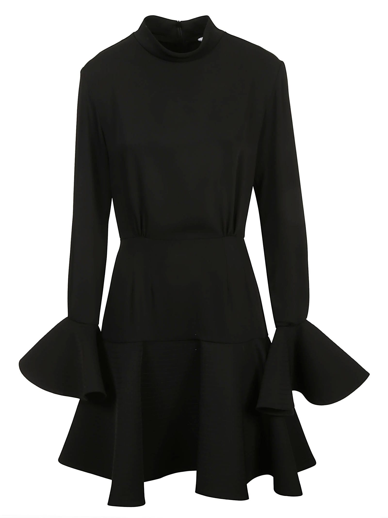 Buy Patou High Neck Mini Dress online, shop Patou with free shipping