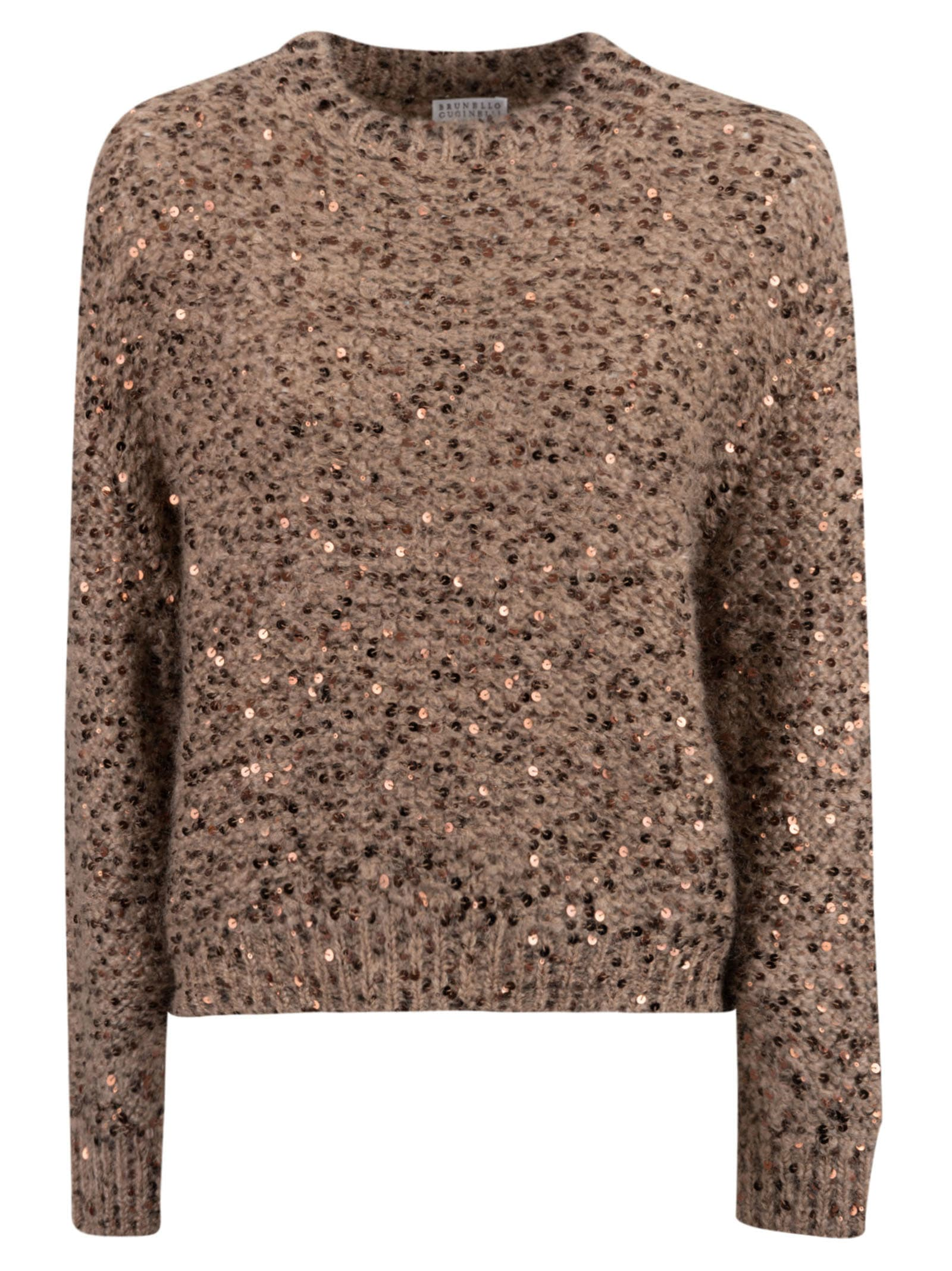 Brunello Cucinelli Bead Embellished Sweater