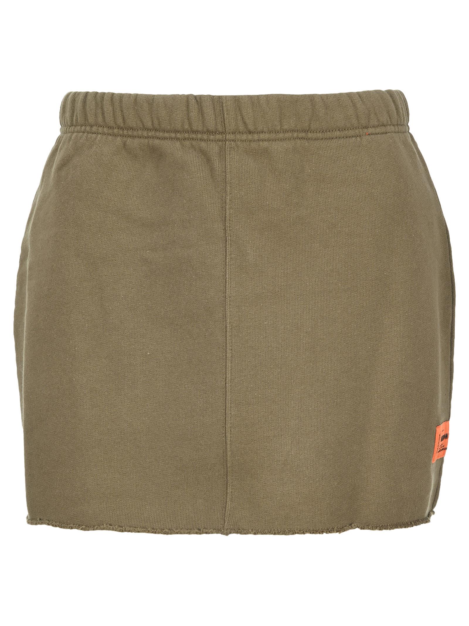 Heron Preston Jersey Mini Skirt
