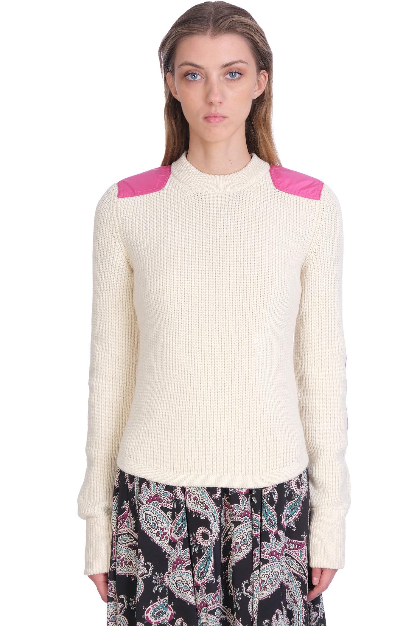 Isabel Marant Derry Knitwear In Beige Wool