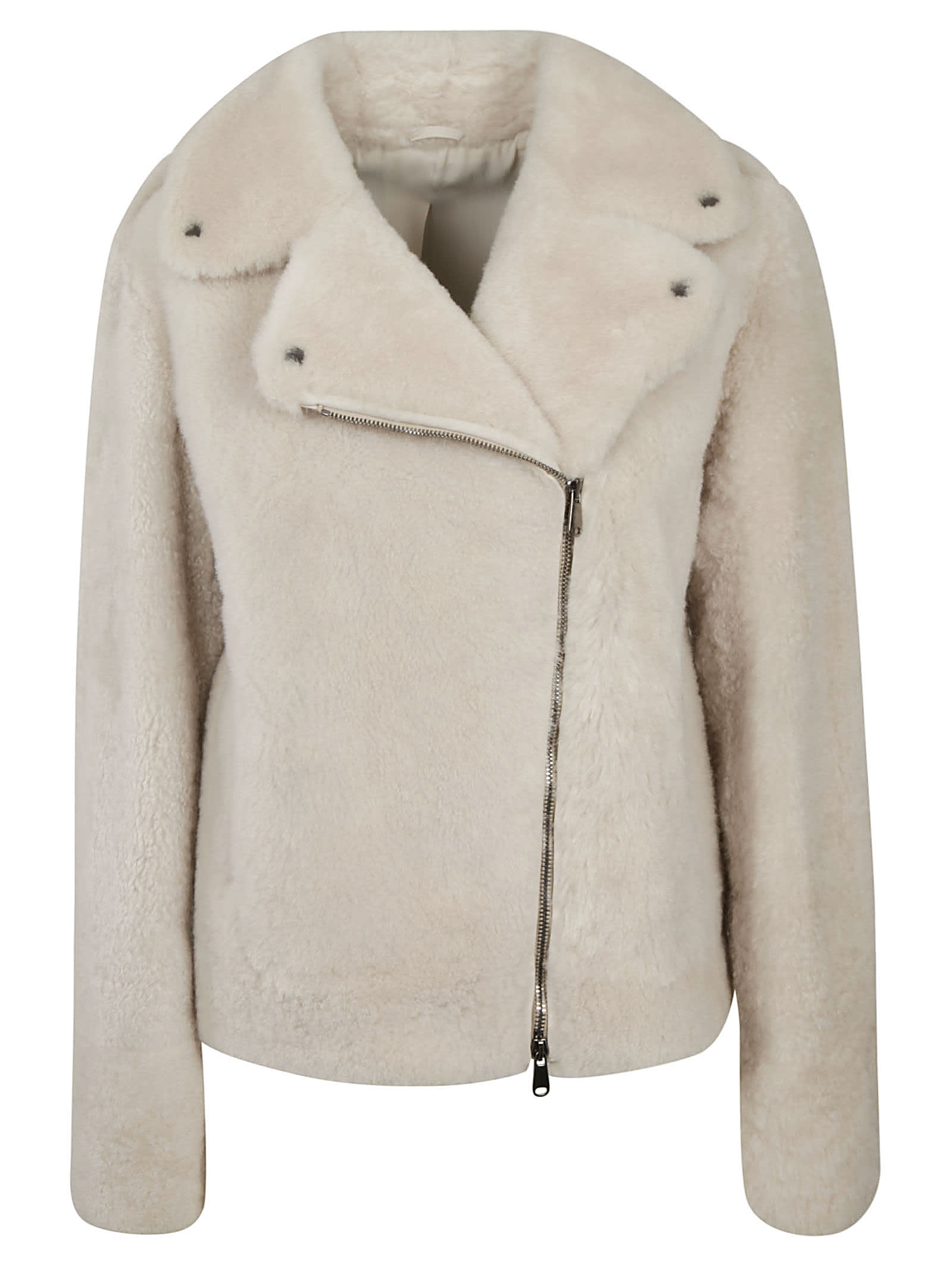 Brunello Cucinelli Fur Biker Jacket