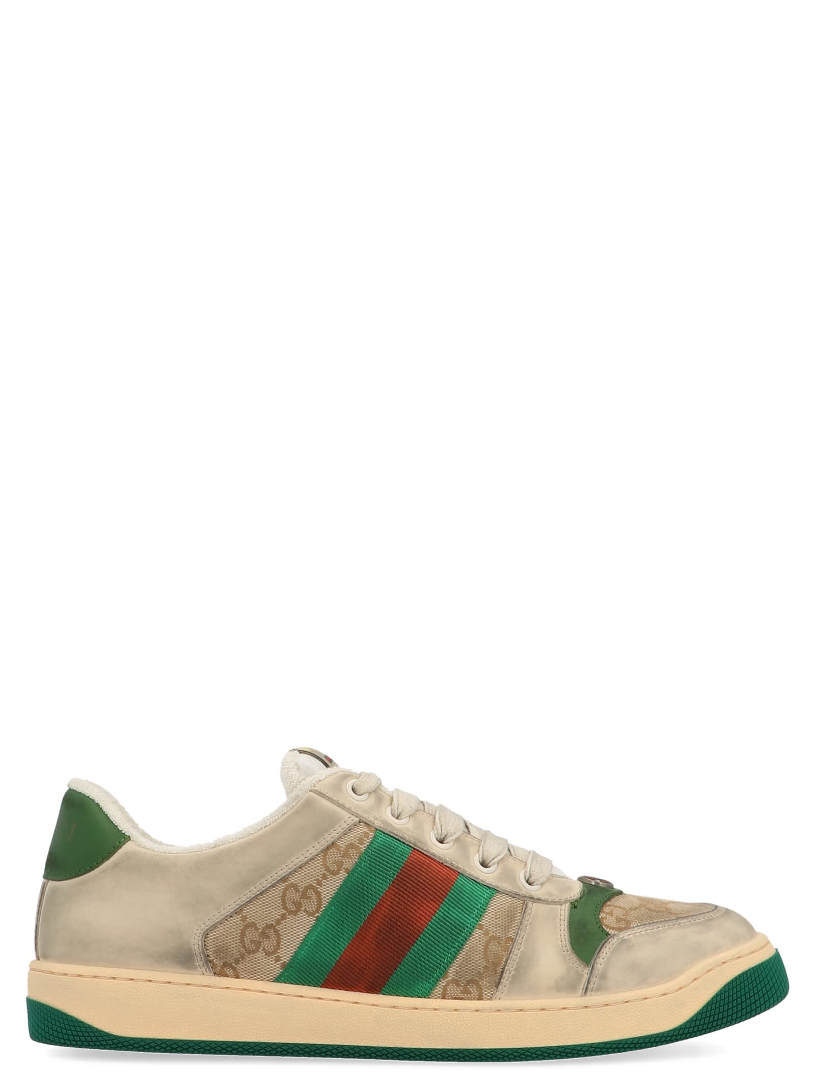 Gucci Leathers SCREENER SHOES