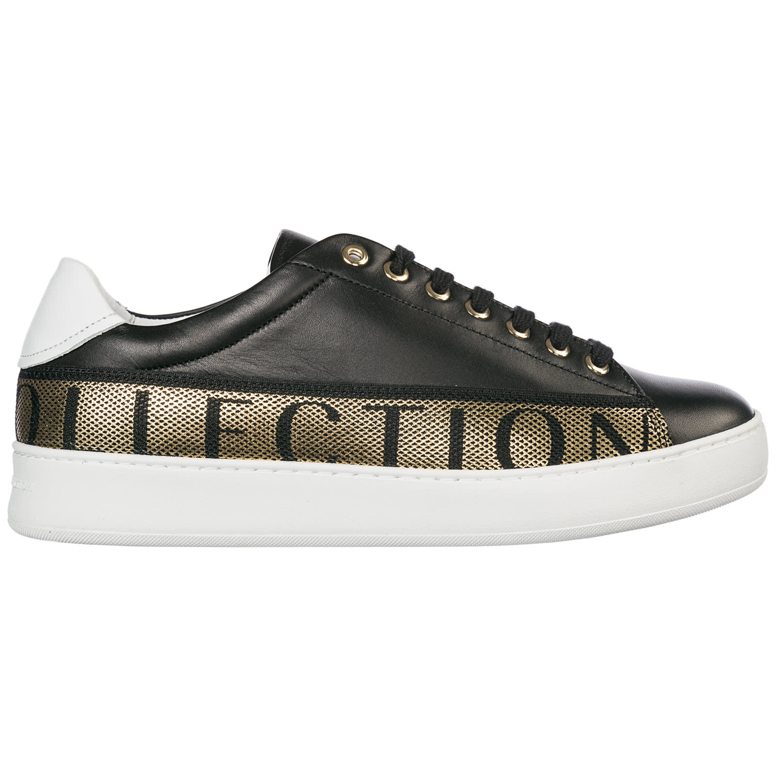 Versace Collection Shoes Leather Trainers Sneakers