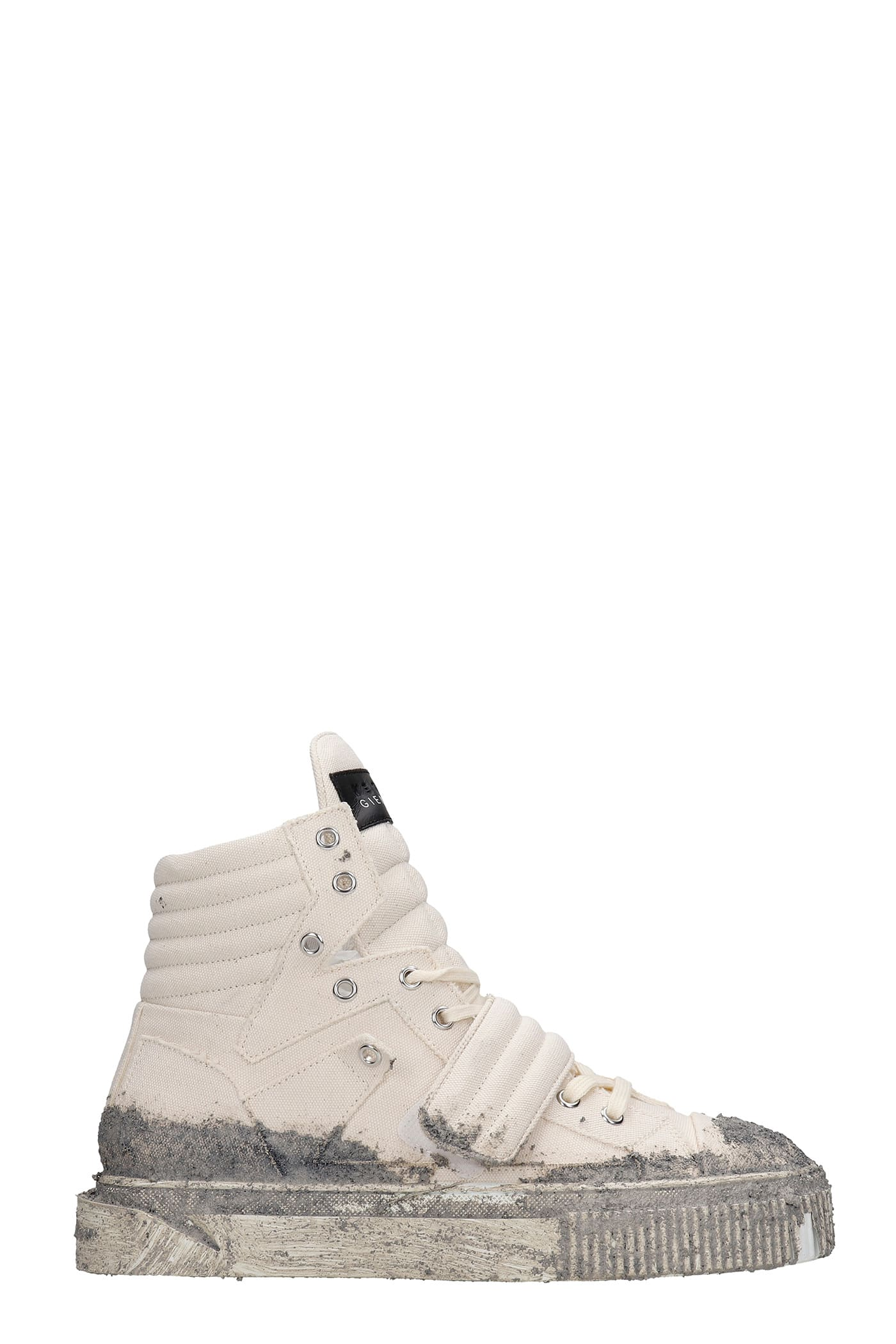 Hypnos Sneakers In Beige Canvas