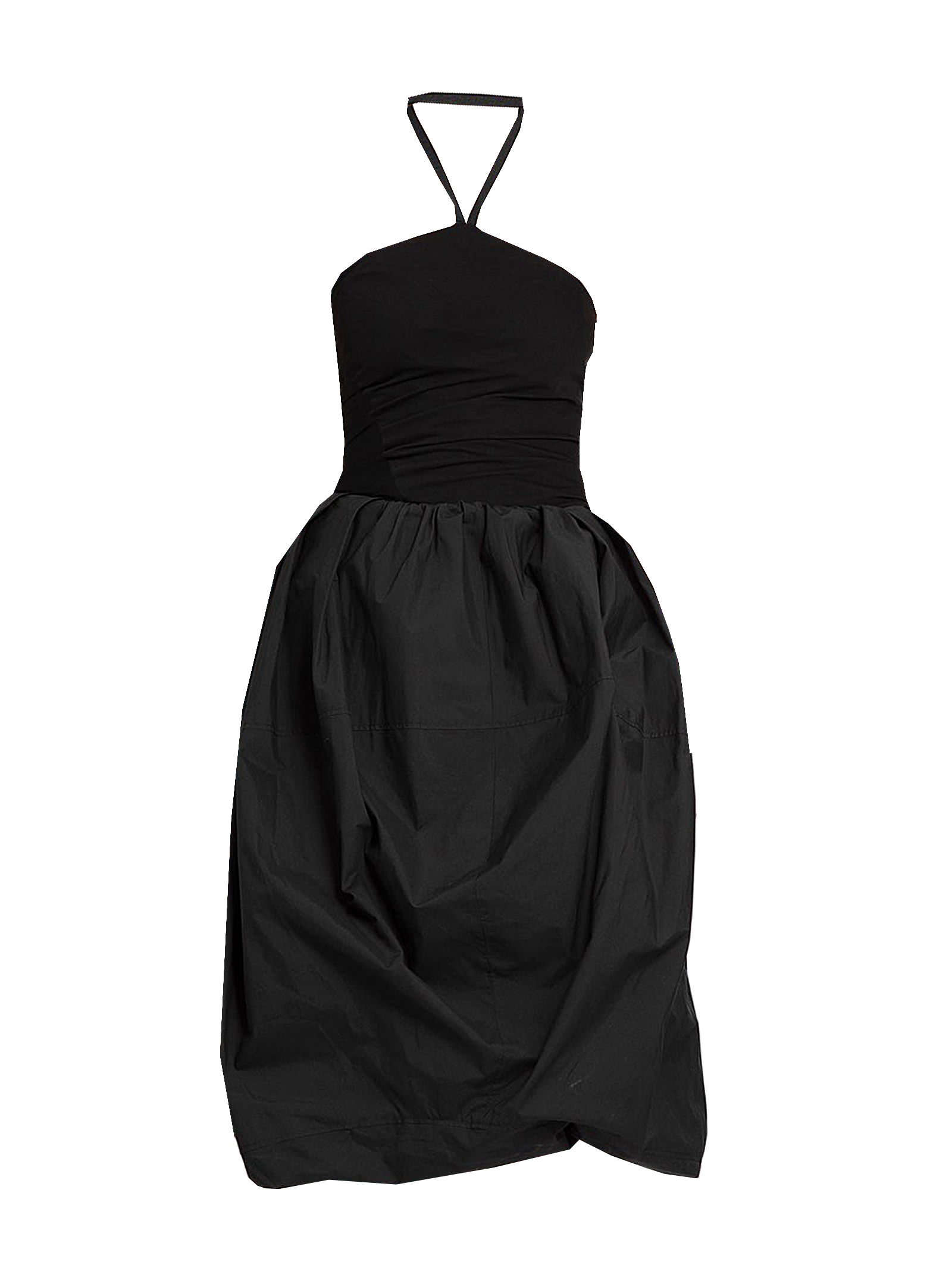 Buy J.W. Anderson Balloon Hem Halterneck Dress online, shop J.W. Anderson with free shipping