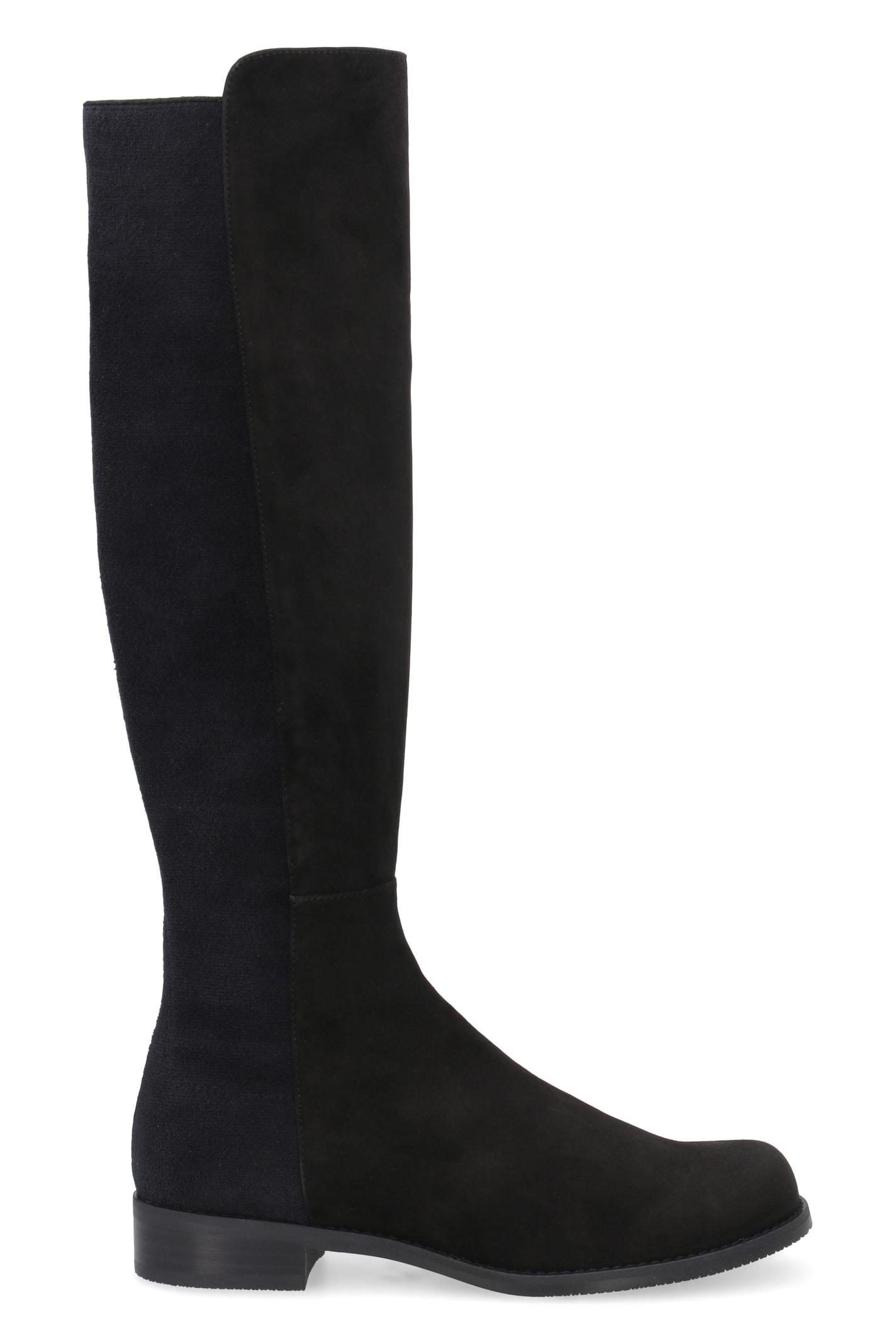 Stuart Weitzman Suede Knee-boots