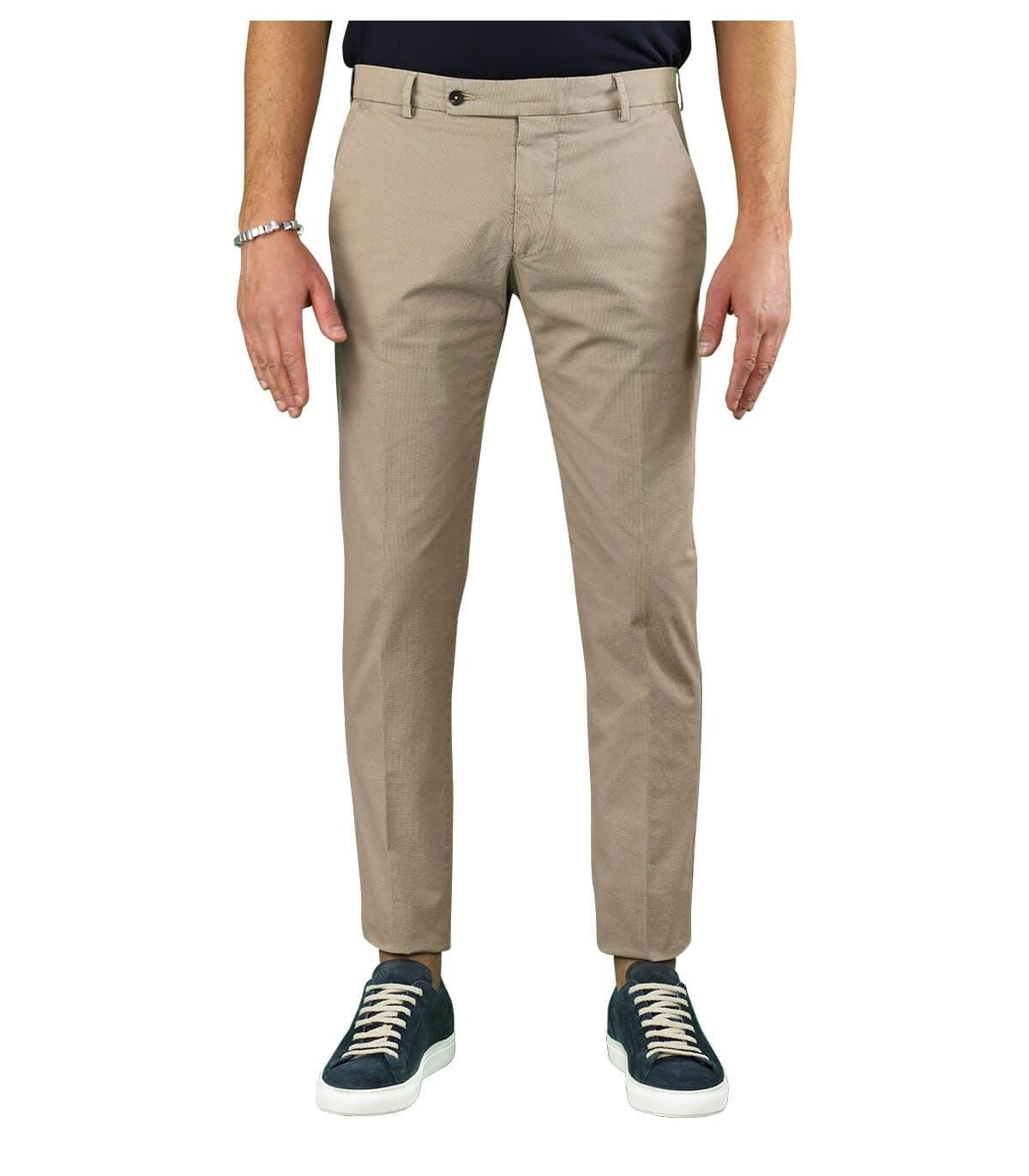 Morello Beige Chino Trousers