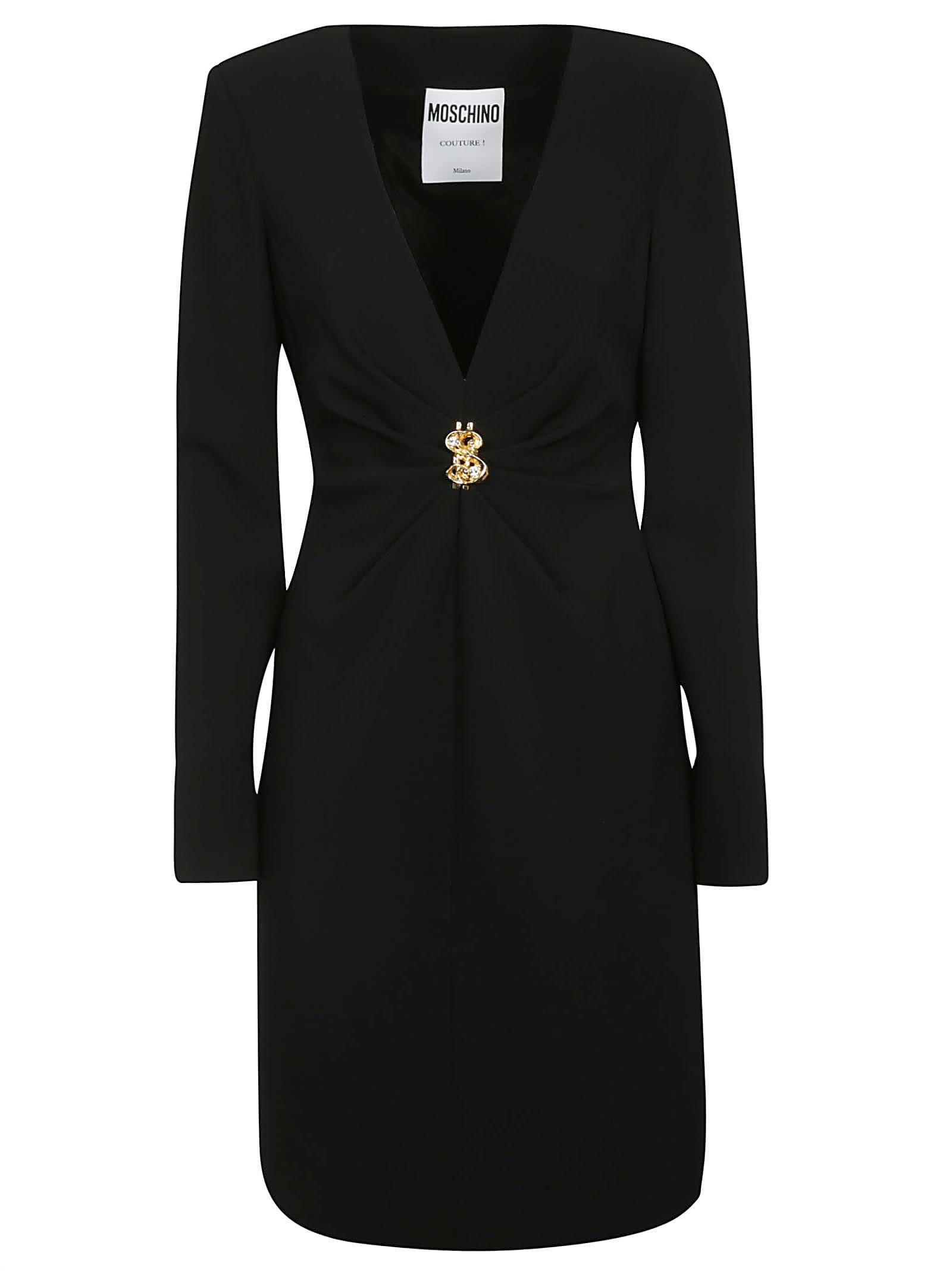 Buy Moschino Embellished Dress online, shop Moschino with free shipping