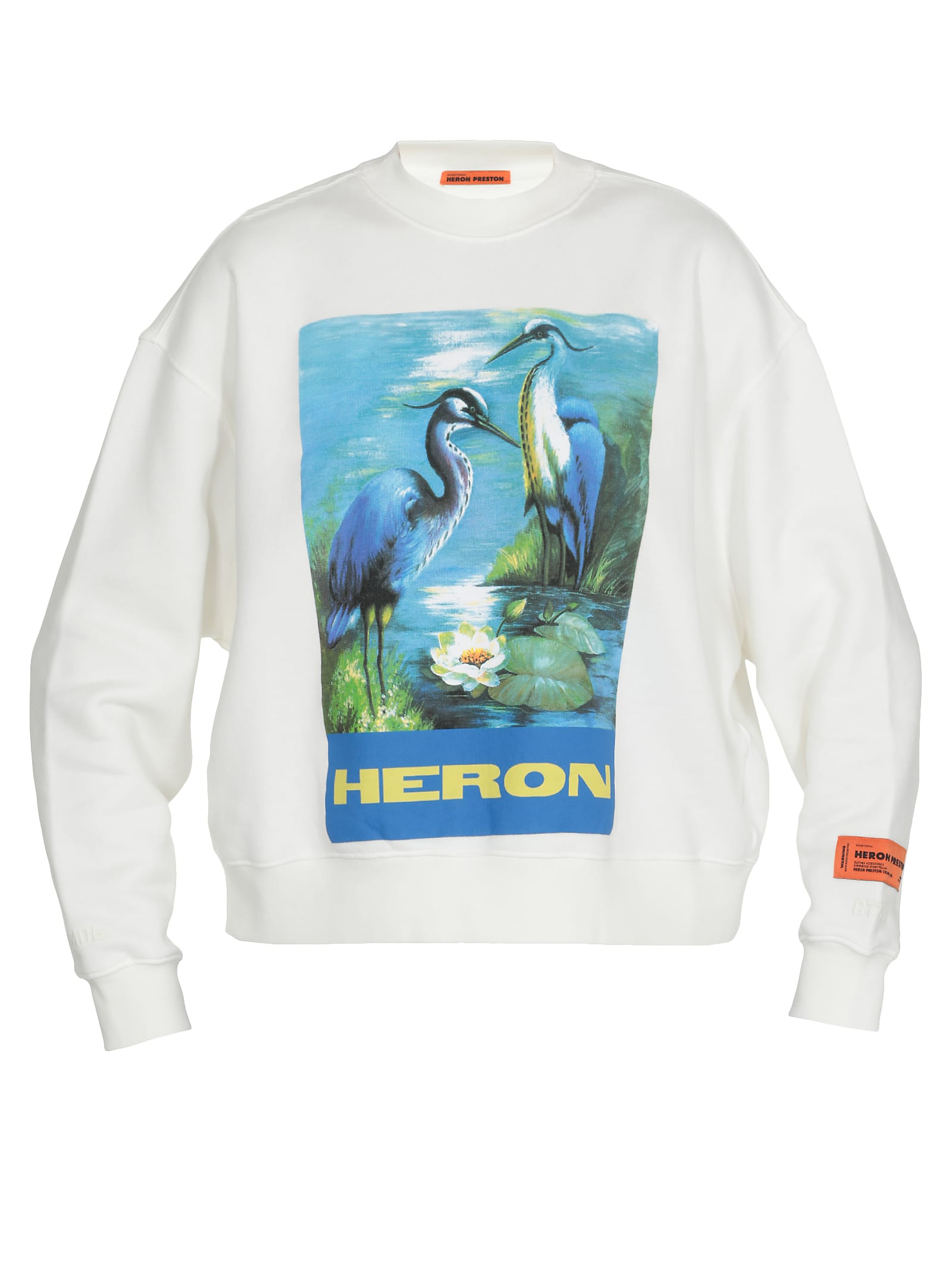 Heron Preston T-shirts HERON PRESTON Heron Sweatshirt