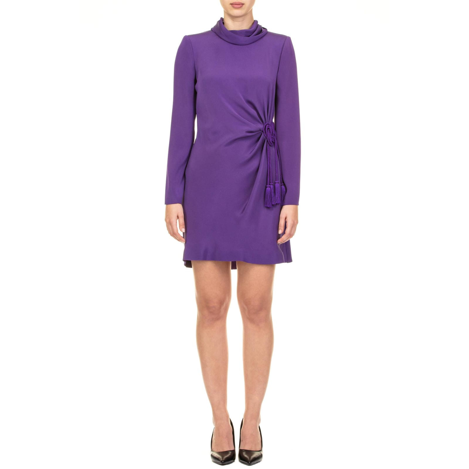 Alberta Ferretti Crepe Dress