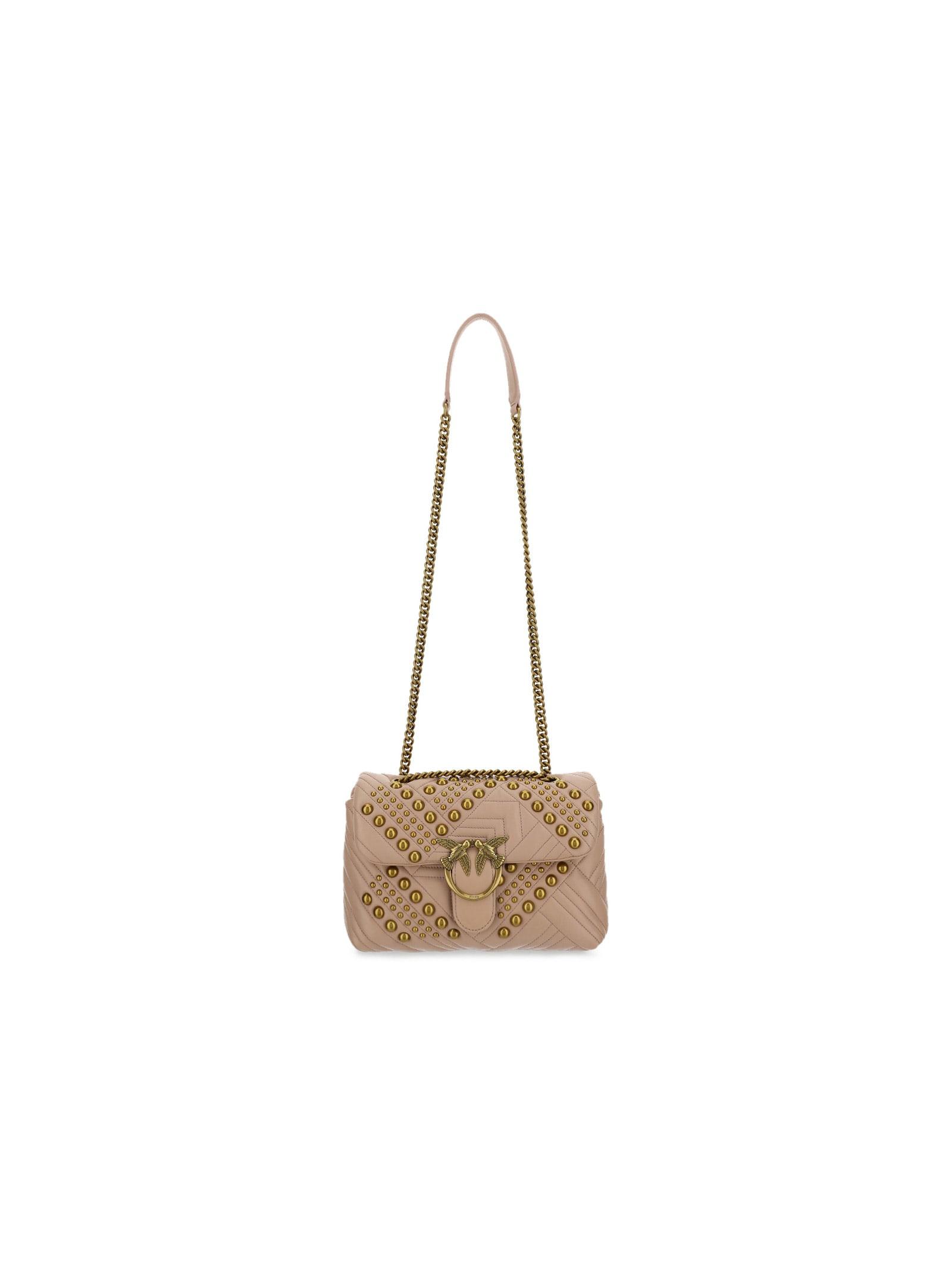 Pinko Leathers LOVE CLASSIC SHOULDER BAG