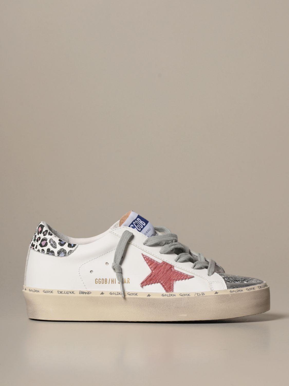 Sneakers Hi Star Golden Goose Sneaker In Leather And Pony SkinComposition: 100% Gomma, 75% Pelle Bovina, 25% Pelle Ov
