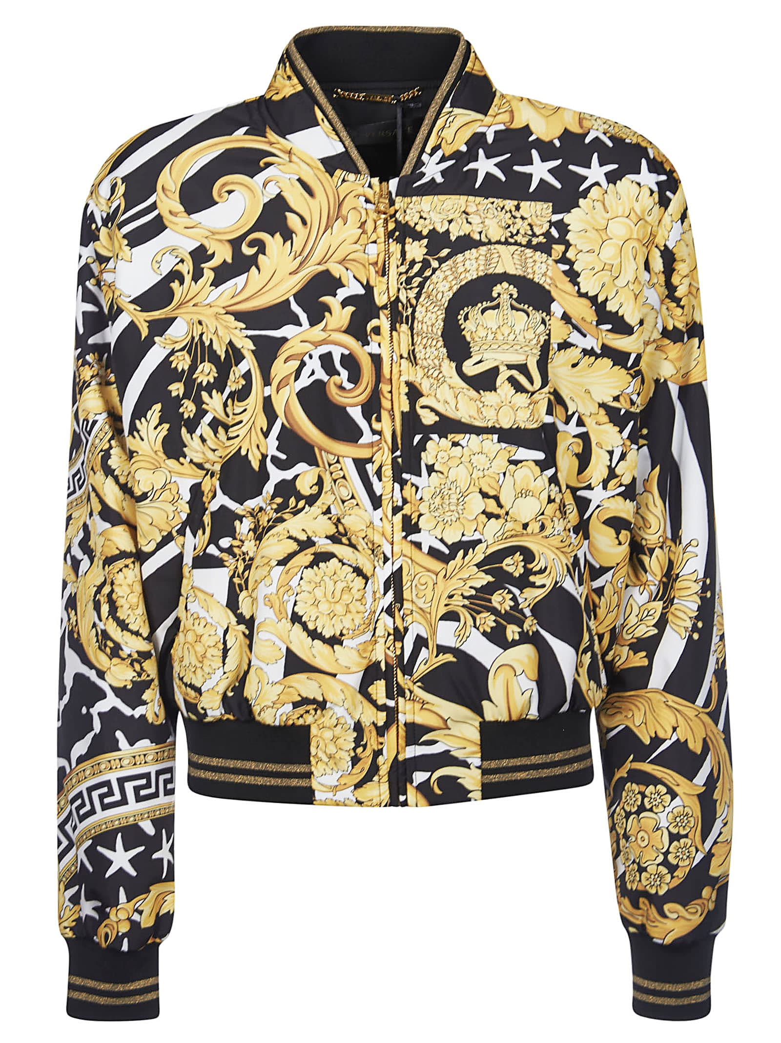 Photo of  Versace Printed Bomber- shop Versace jackets online sales