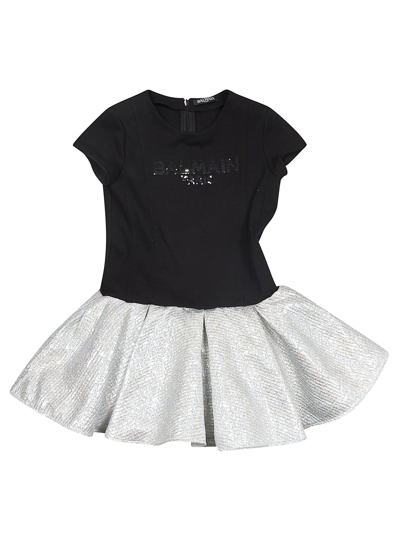 Balmain Kids Logo Dress