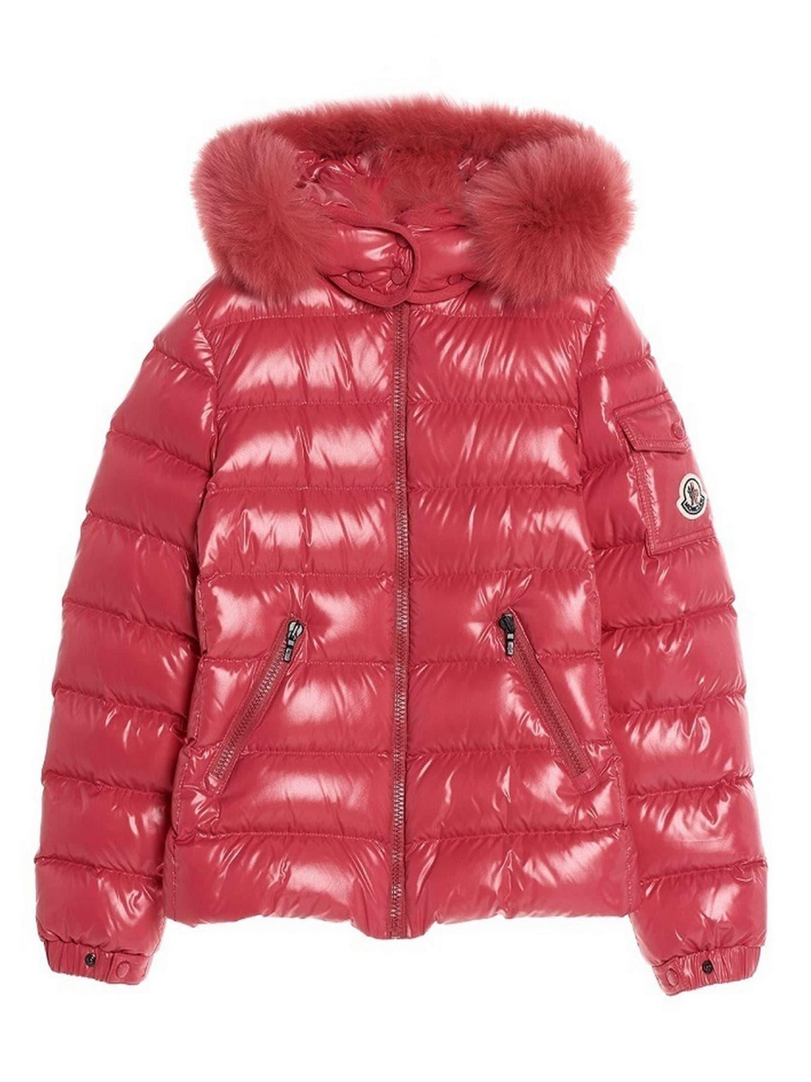 Moncler Strawberry Nylon Jacket