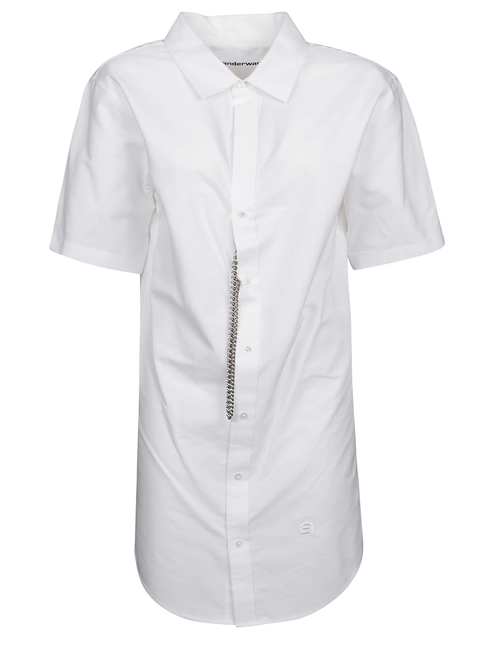 Buy Alexander Wang Short-sleeve Shirt Dress online, shop Alexander Wang with free shipping