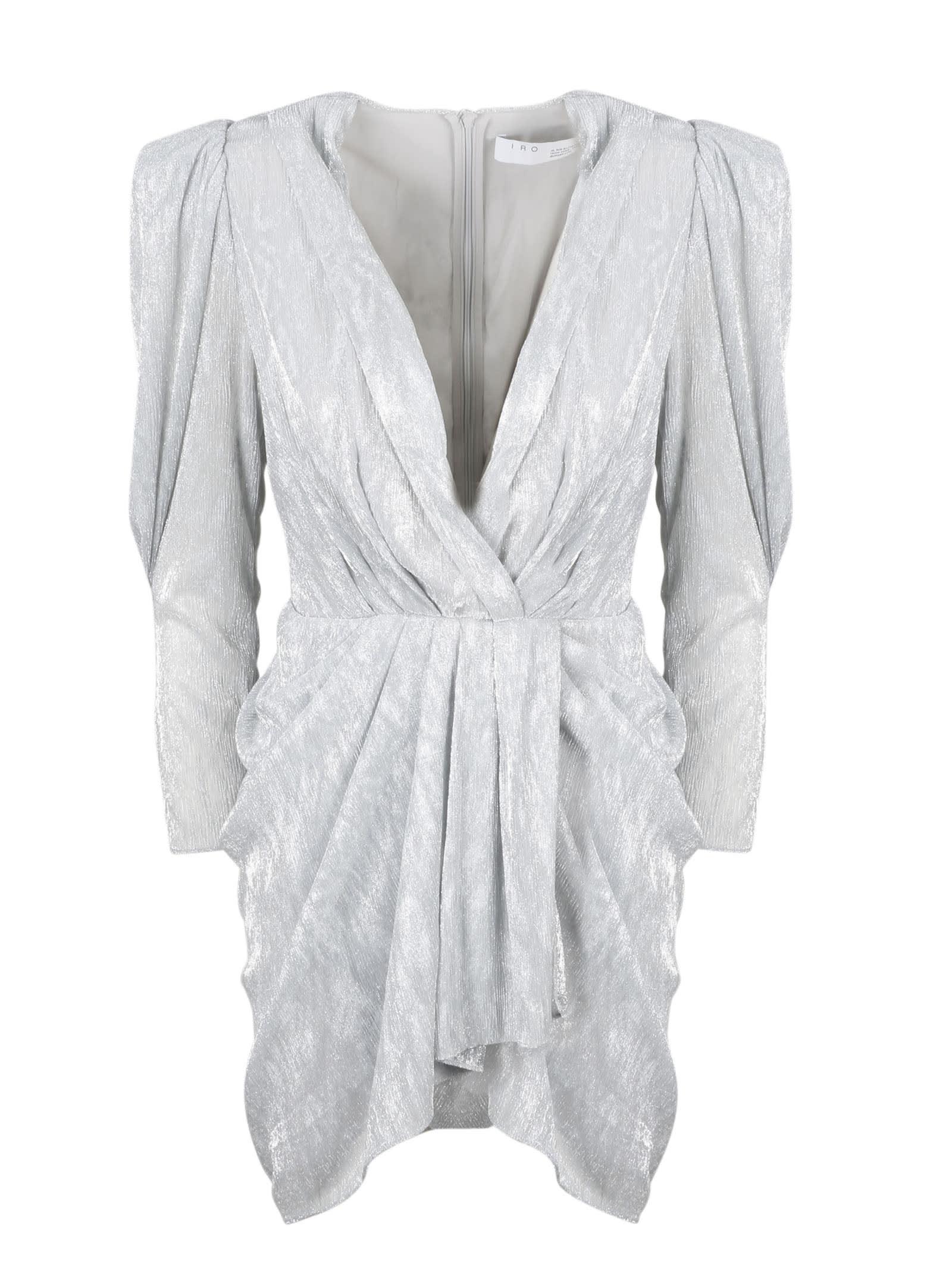 Buy IRO Daz Metallic Dress online, shop IRO with free shipping