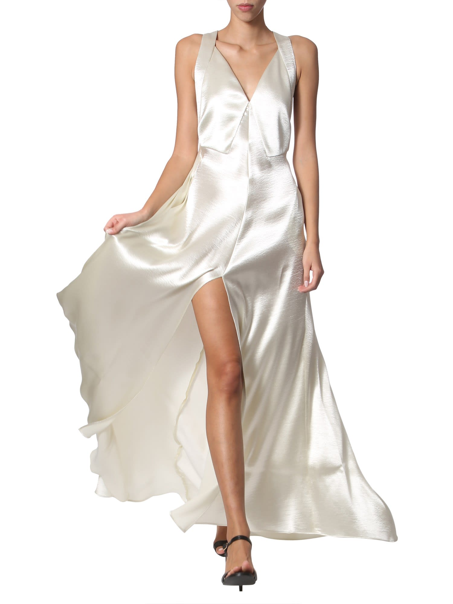 Buy Philosophy di Lorenzo Serafini V-neck Dress online, shop Philosophy di Lorenzo Serafini with free shipping