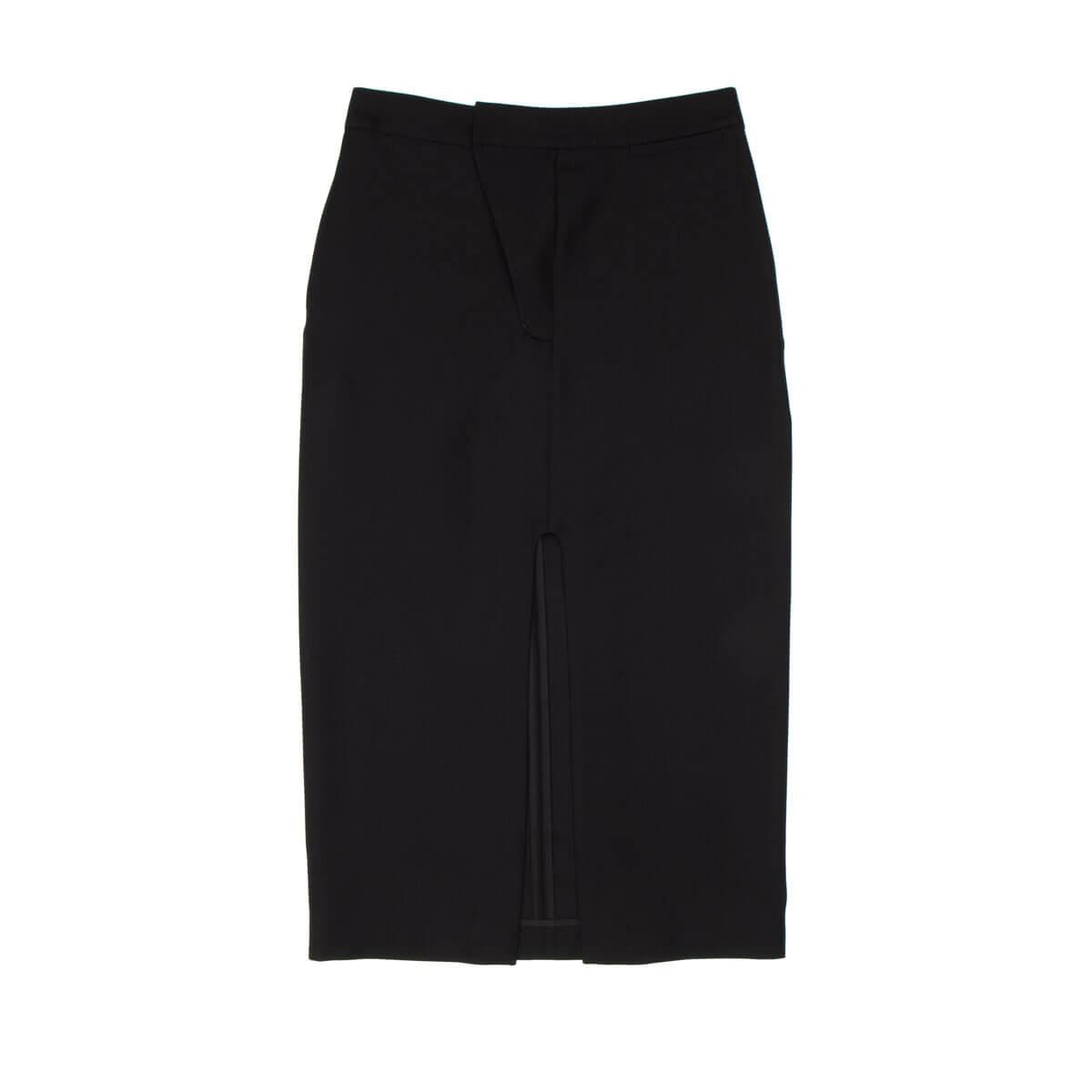 Ambush Split Skirt In Black