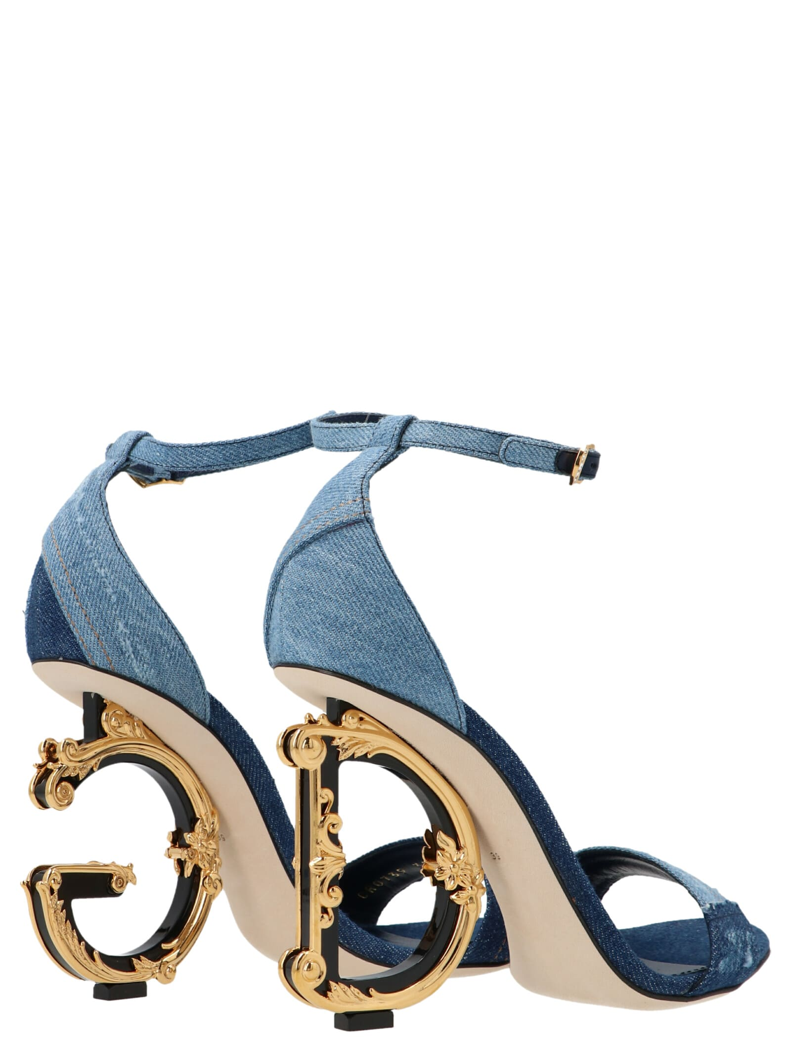 Dolce & Gabbana PATCHWORK SHOES