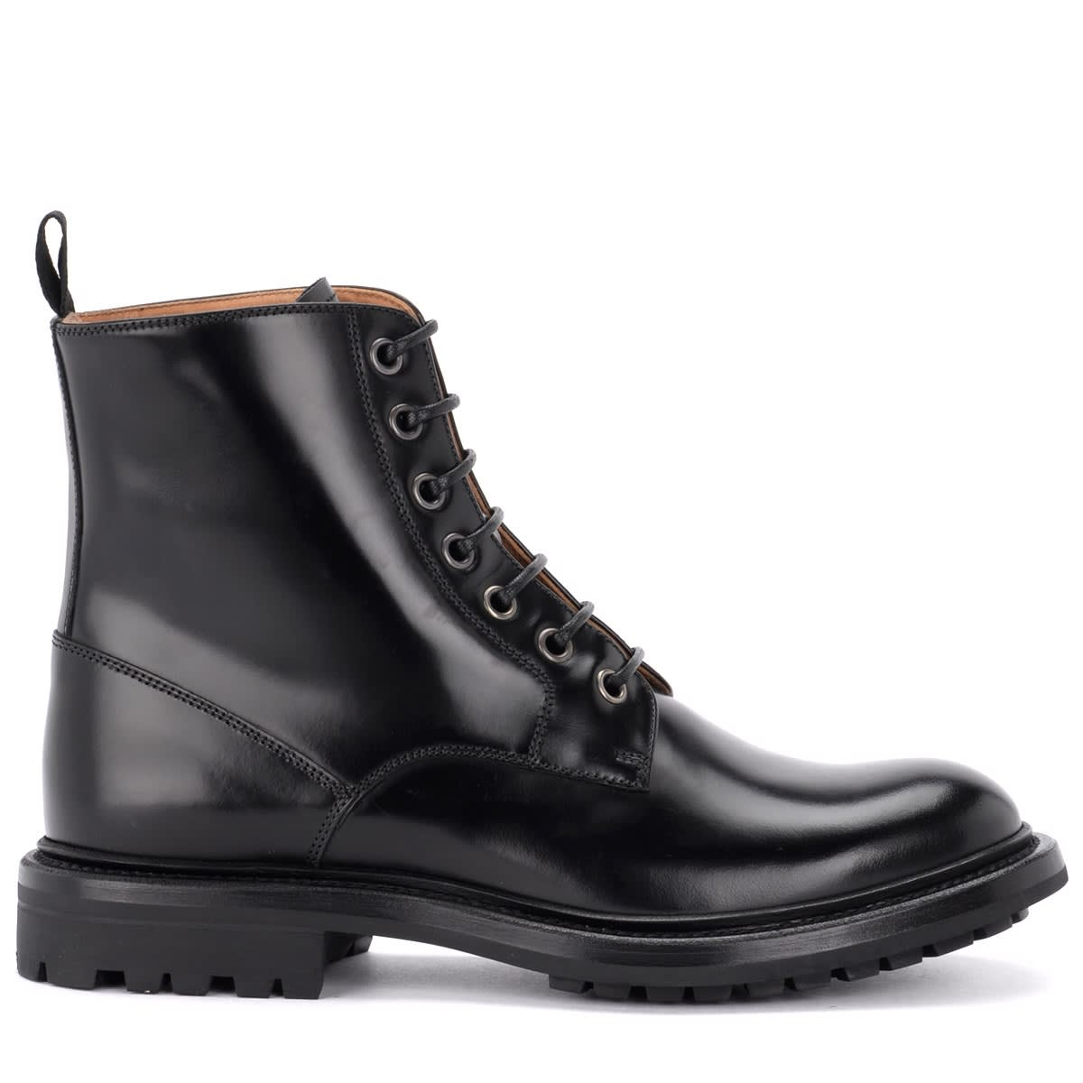 Churchs Nanalah Ankle Boot Made Of Fine Black Calfskin