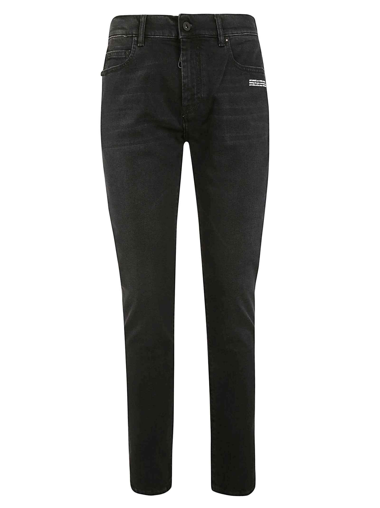Off-White Classic Fitted Jeans
