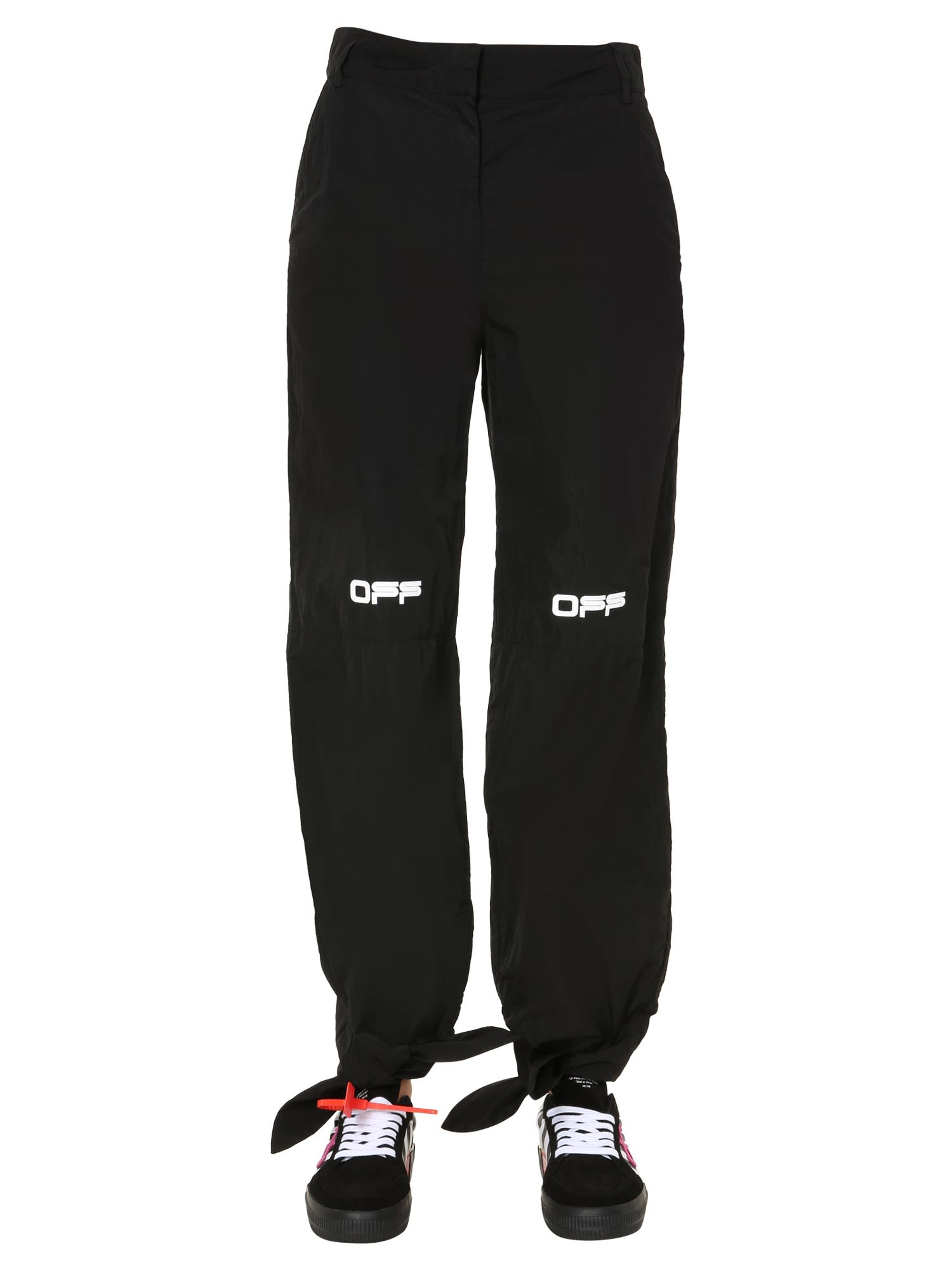 Off-White Pants With Logo