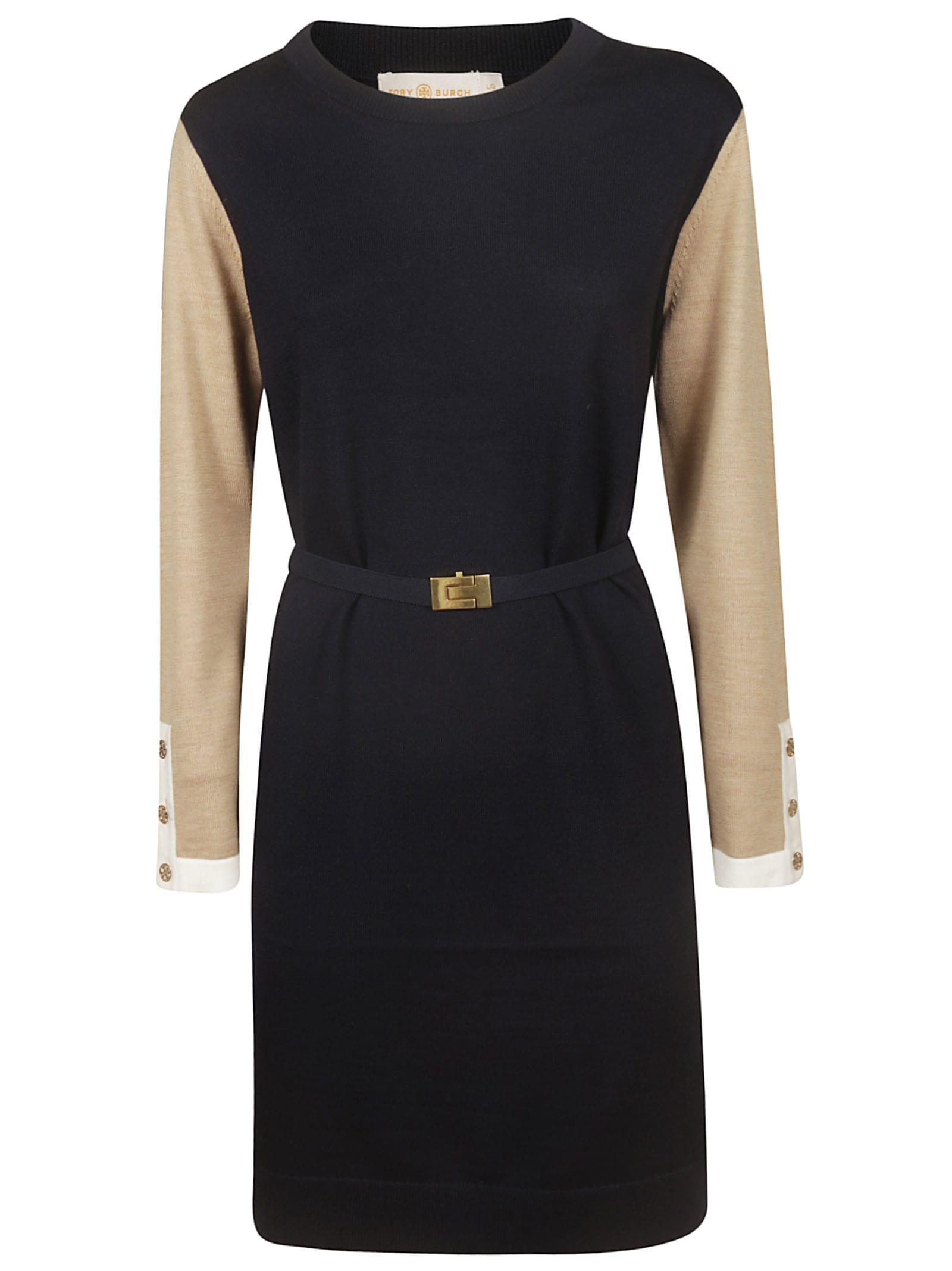 Photo of  Tory Burch Color Block Kendra Dress- shop Tory Burch  online sales