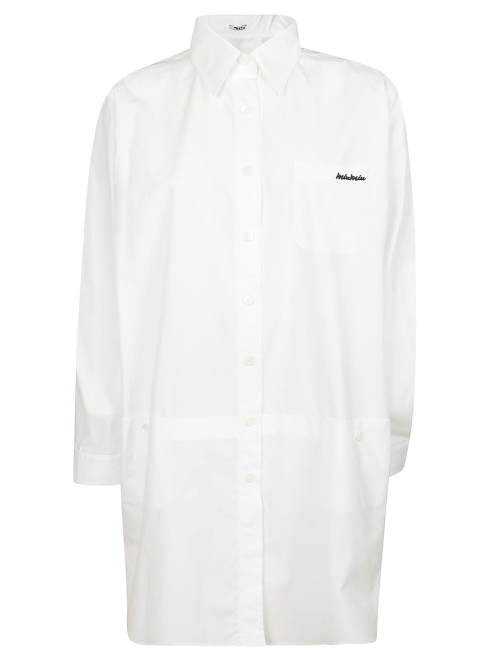 Miu Miu Buttoned Dress