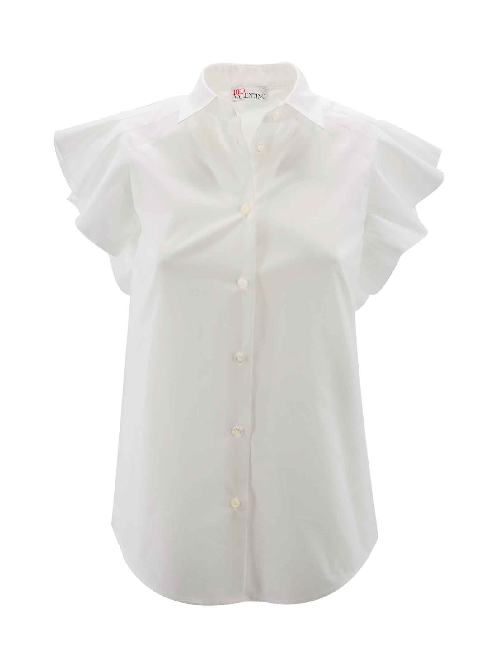Red Valentino Tops COTTON BLEND TOP
