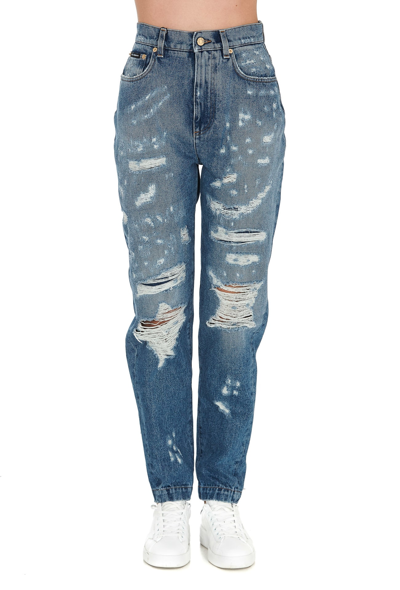Dolce & Gabbana Jeans DISTRESSED JEANS
