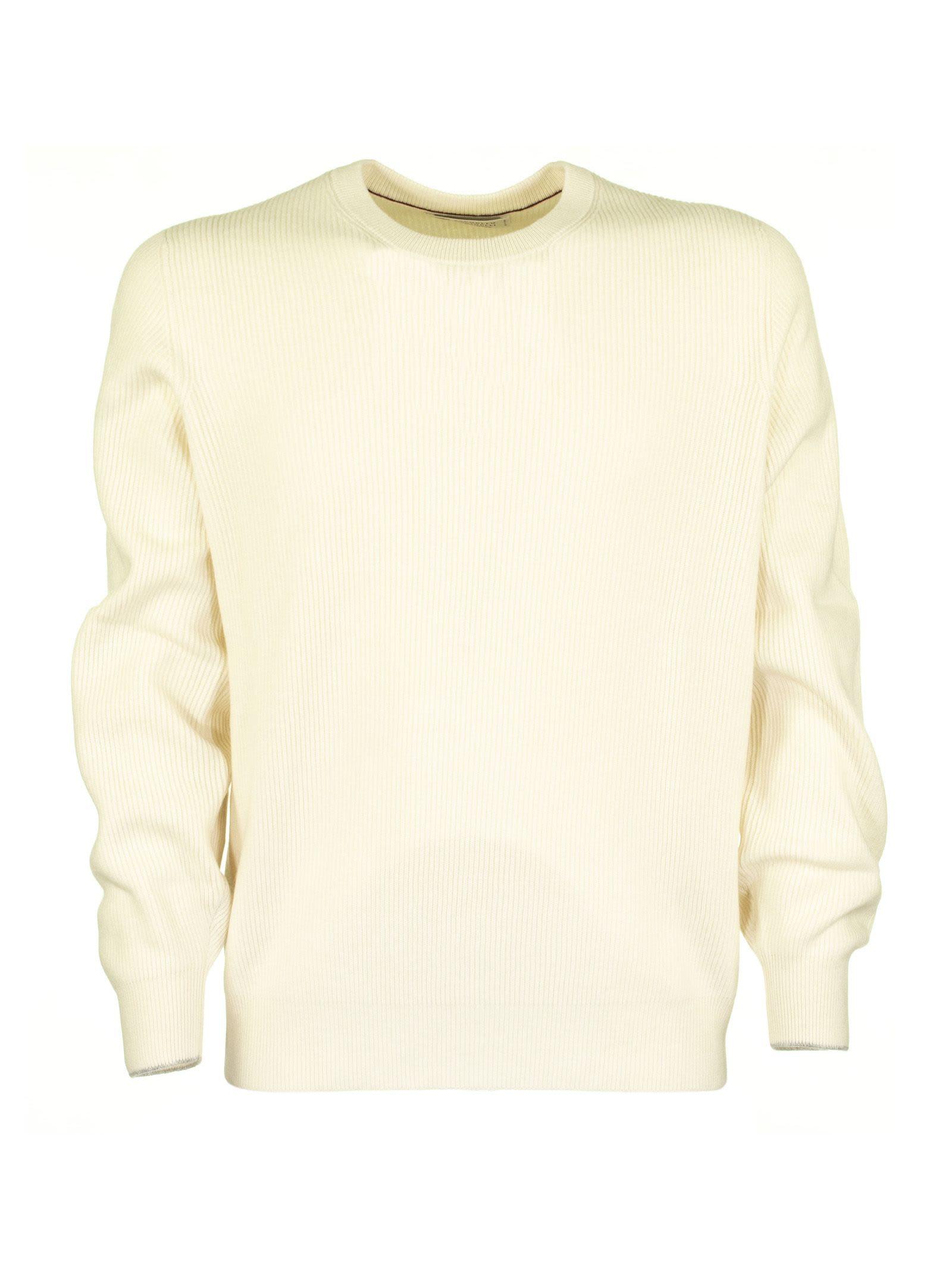 Brunello Cucinelli Cashmere English Rib Sweater