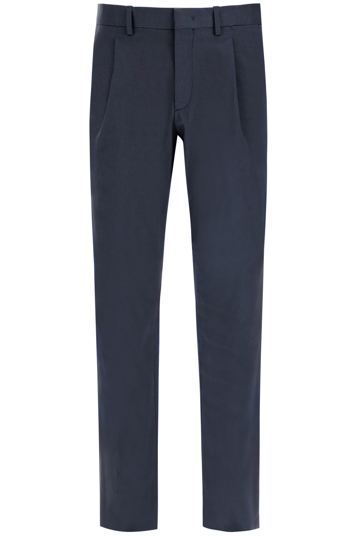 Cargo Trousers With Pleats
