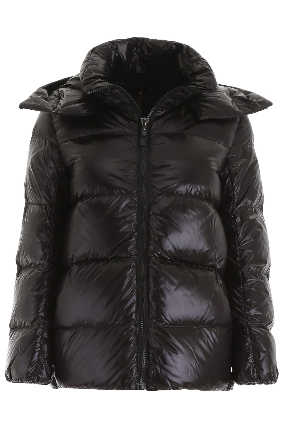 S Max Mara Here is The Cube Glossby Puffer Jacket