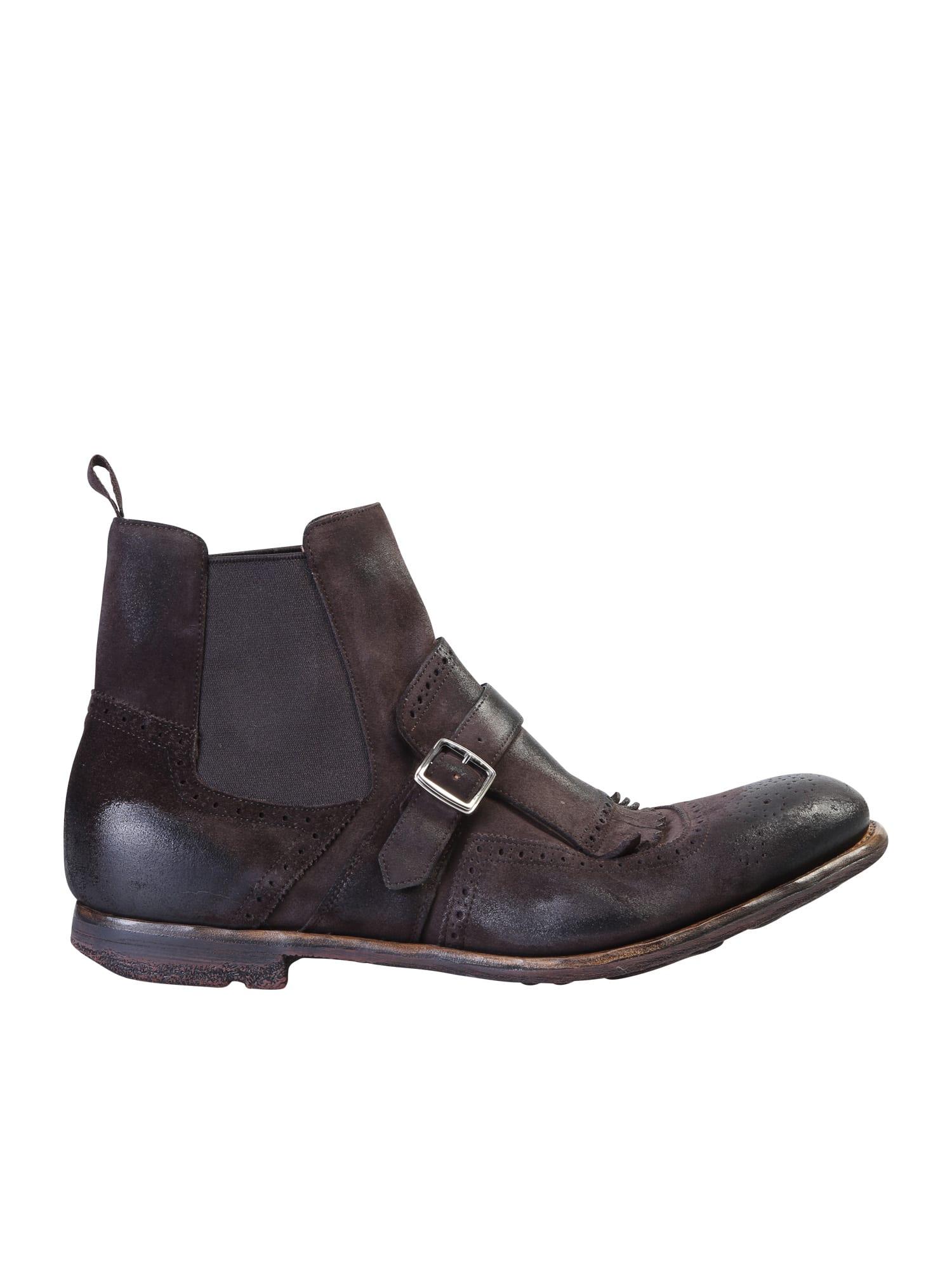 Churchs Shanghai Vintage Leather Boots