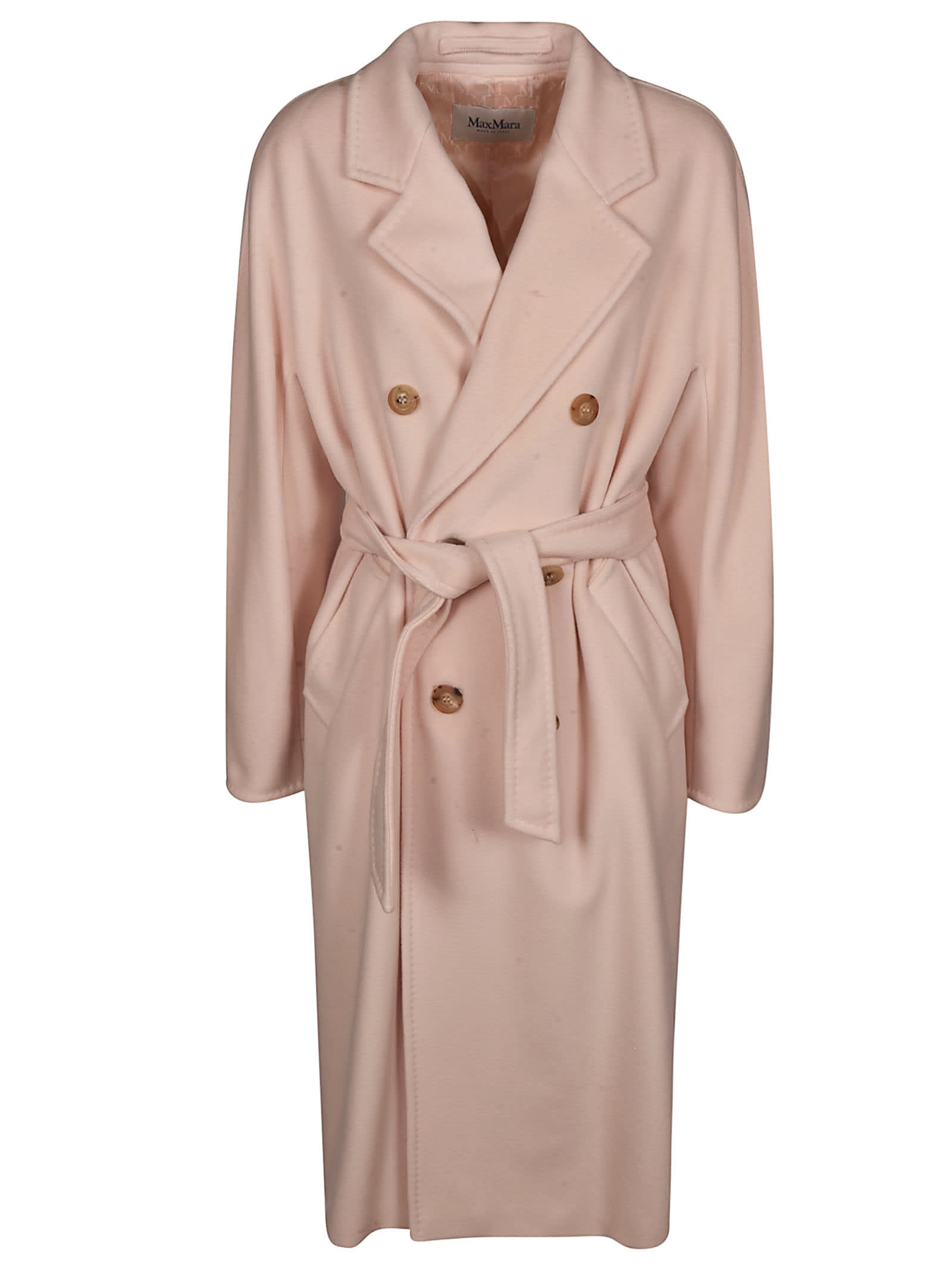 Max Mara Double Breasted Belted Trench