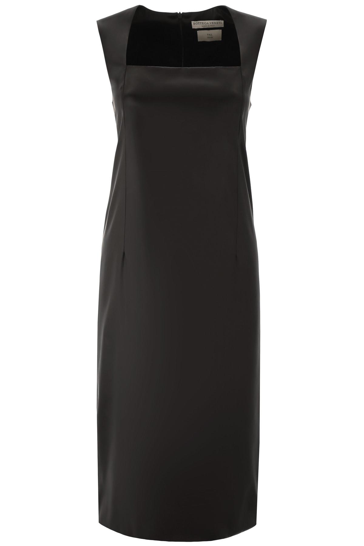 Bottega Veneta Satin Midi Dress
