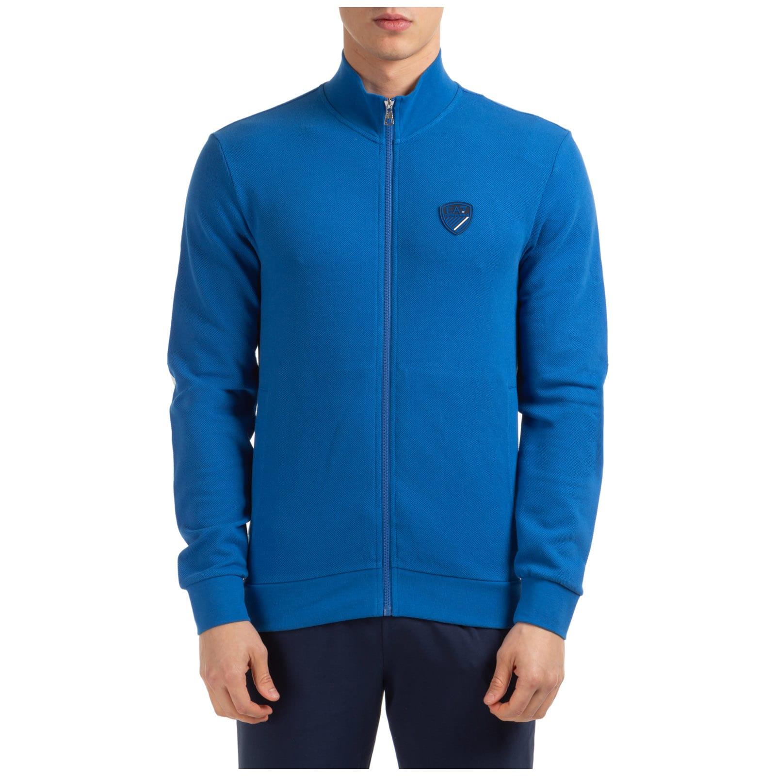 Emporio Armani Ea7 Special Swallow Zip-up Sweatshirt
