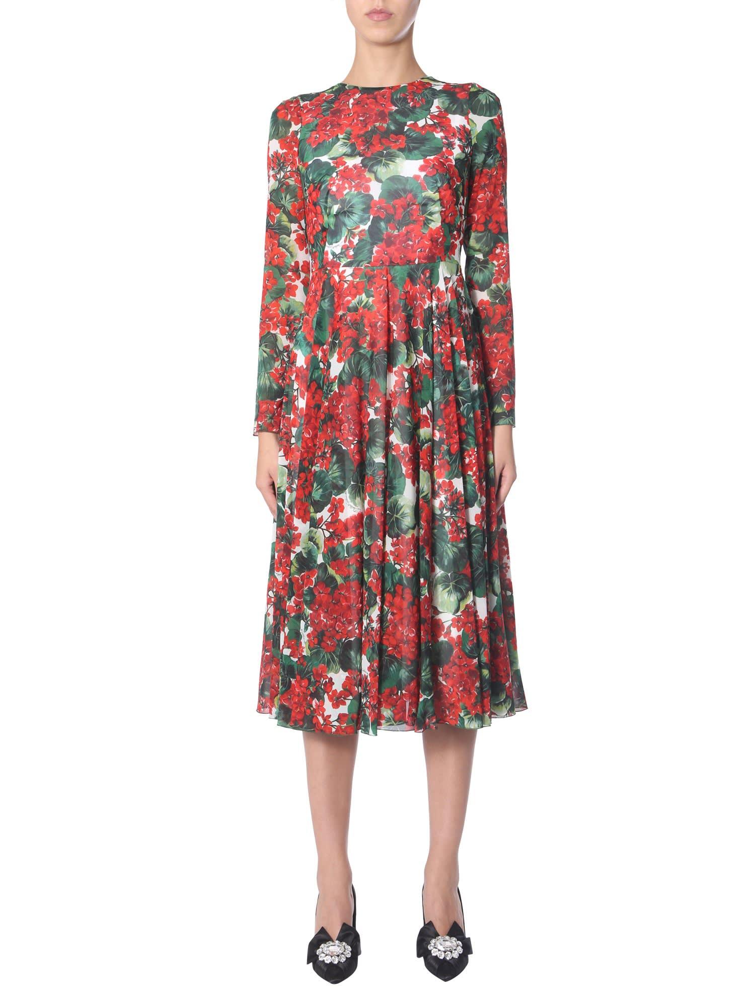 Dolce & Gabbana Dress With Portofino Print