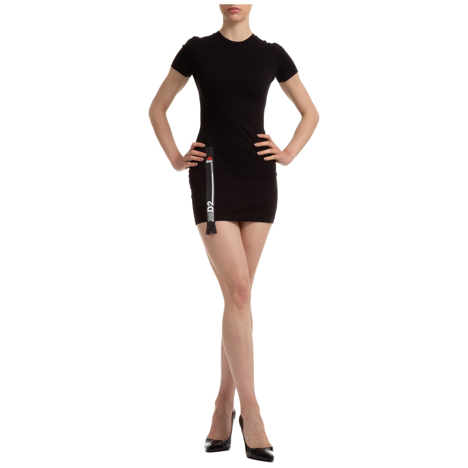 Buy Dsquared2 D2line Mini Dress online, shop Dsquared2 with free shipping
