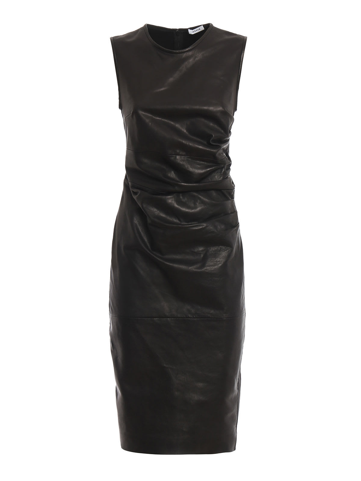 Parosh Leather+jersey Dress
