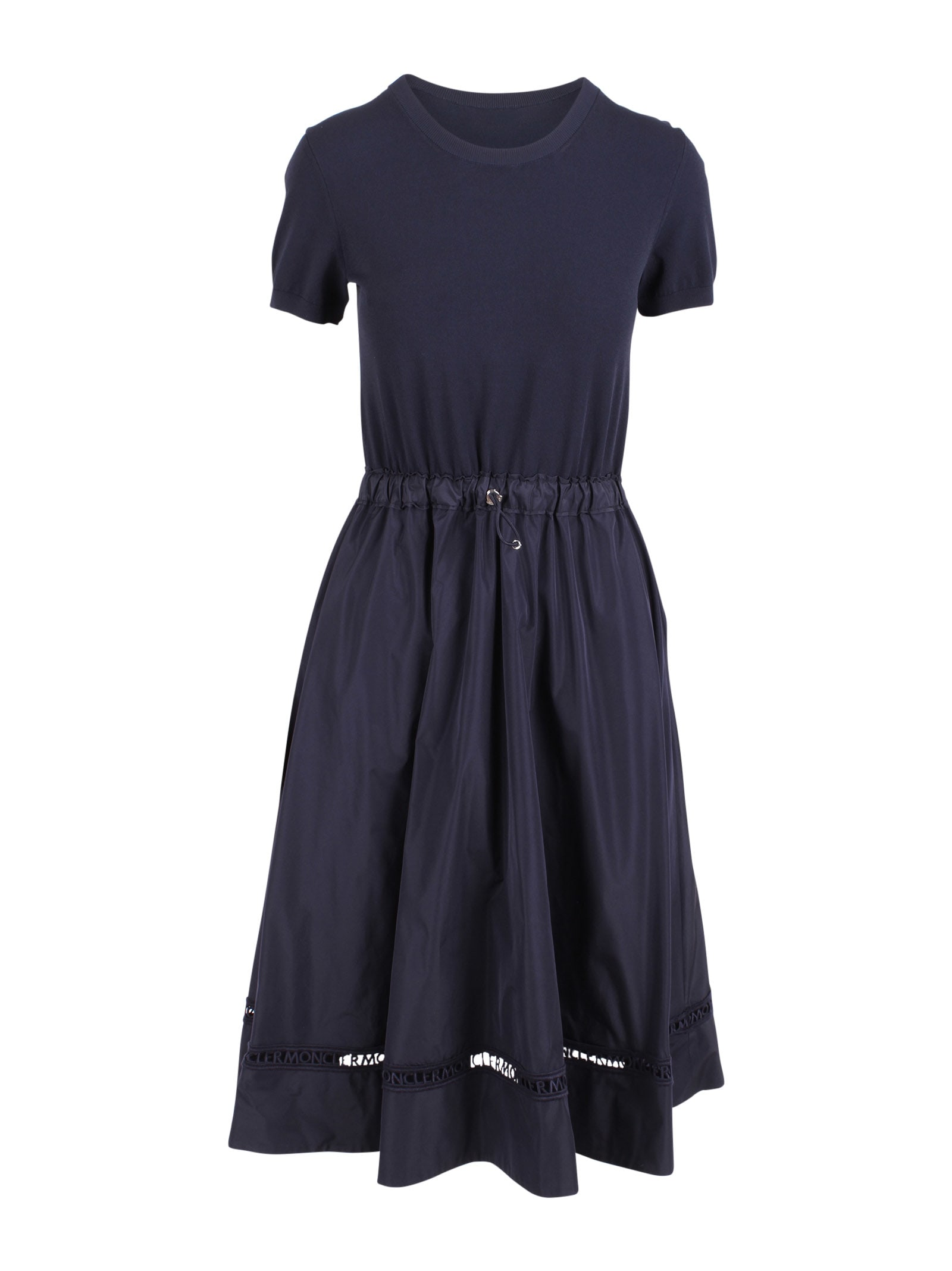 Buy Moncler Polyester Dress online, shop Moncler with free shipping