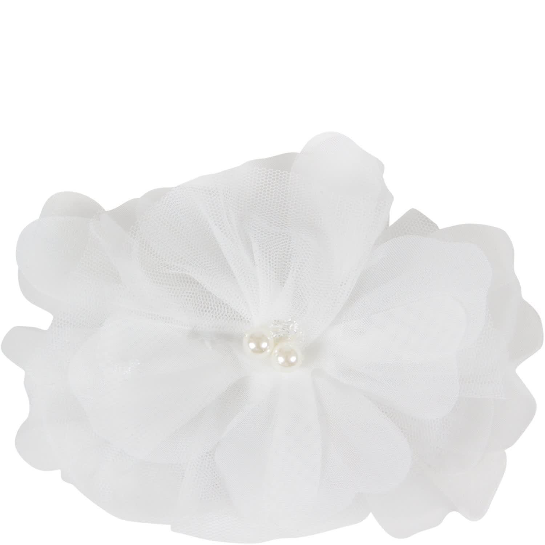 White Hair Clip For Girl