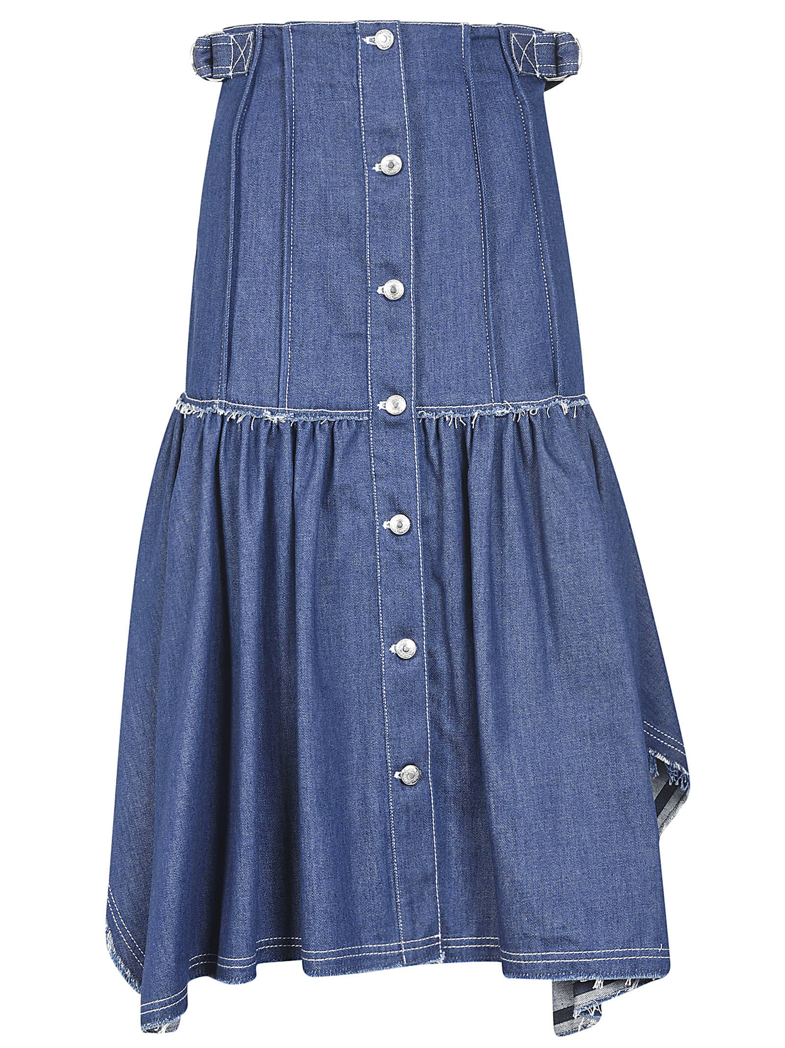 Buy Chloé Buttoned Denim Dress online, shop Chloé with free shipping