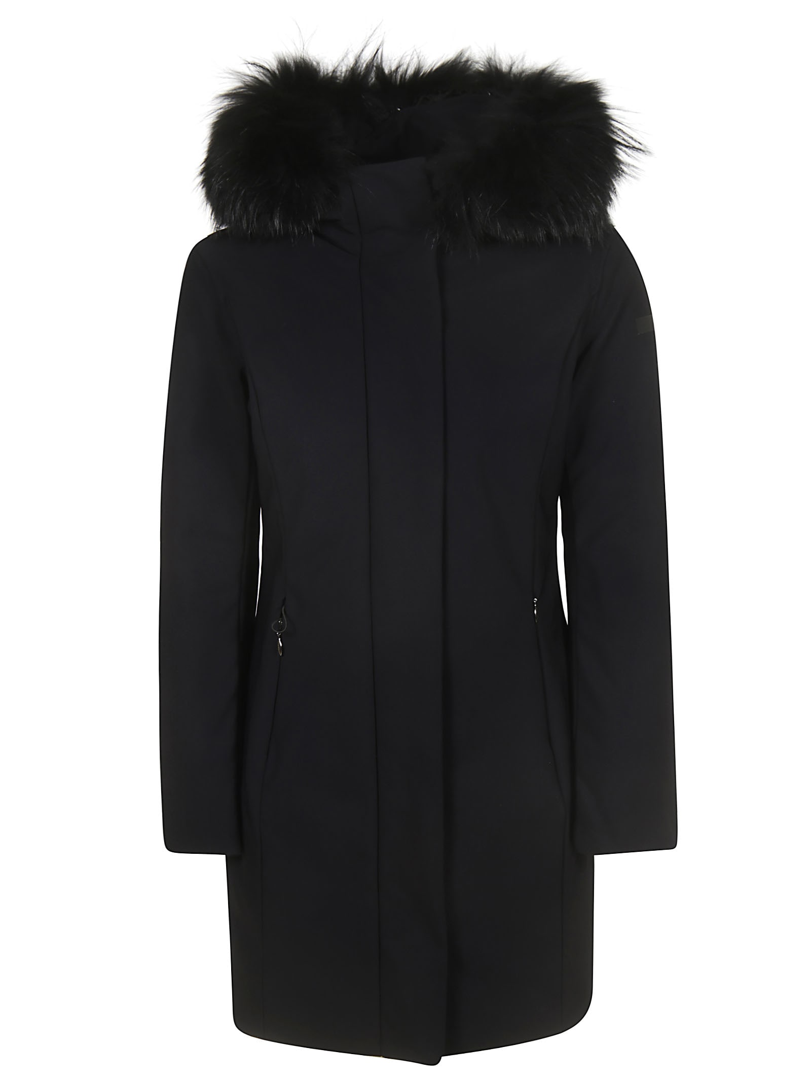 RRD - Roberto Ricci Design Classic Zipped Furry Hood Coat