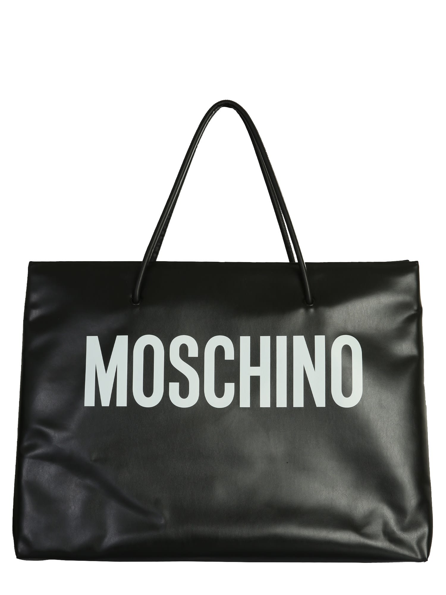 Moschino Leathers BAG WITH LOGO