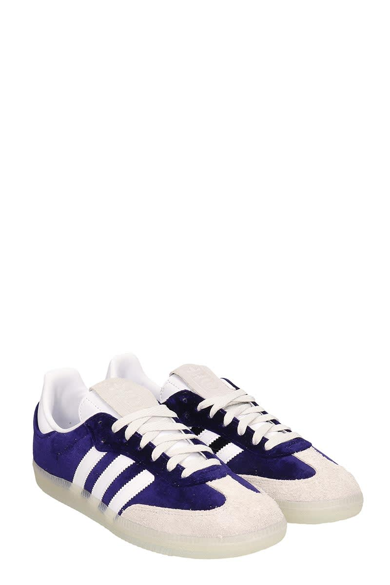 Purple Velvet Samba Og Sneakers